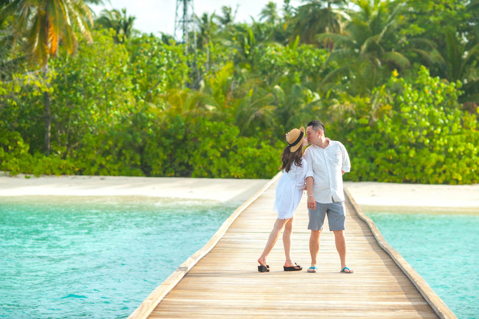 Chin Siew and Chin Yee Honeymoon in Maldives at Huvafen Fushi Resort Under Water Spa 4