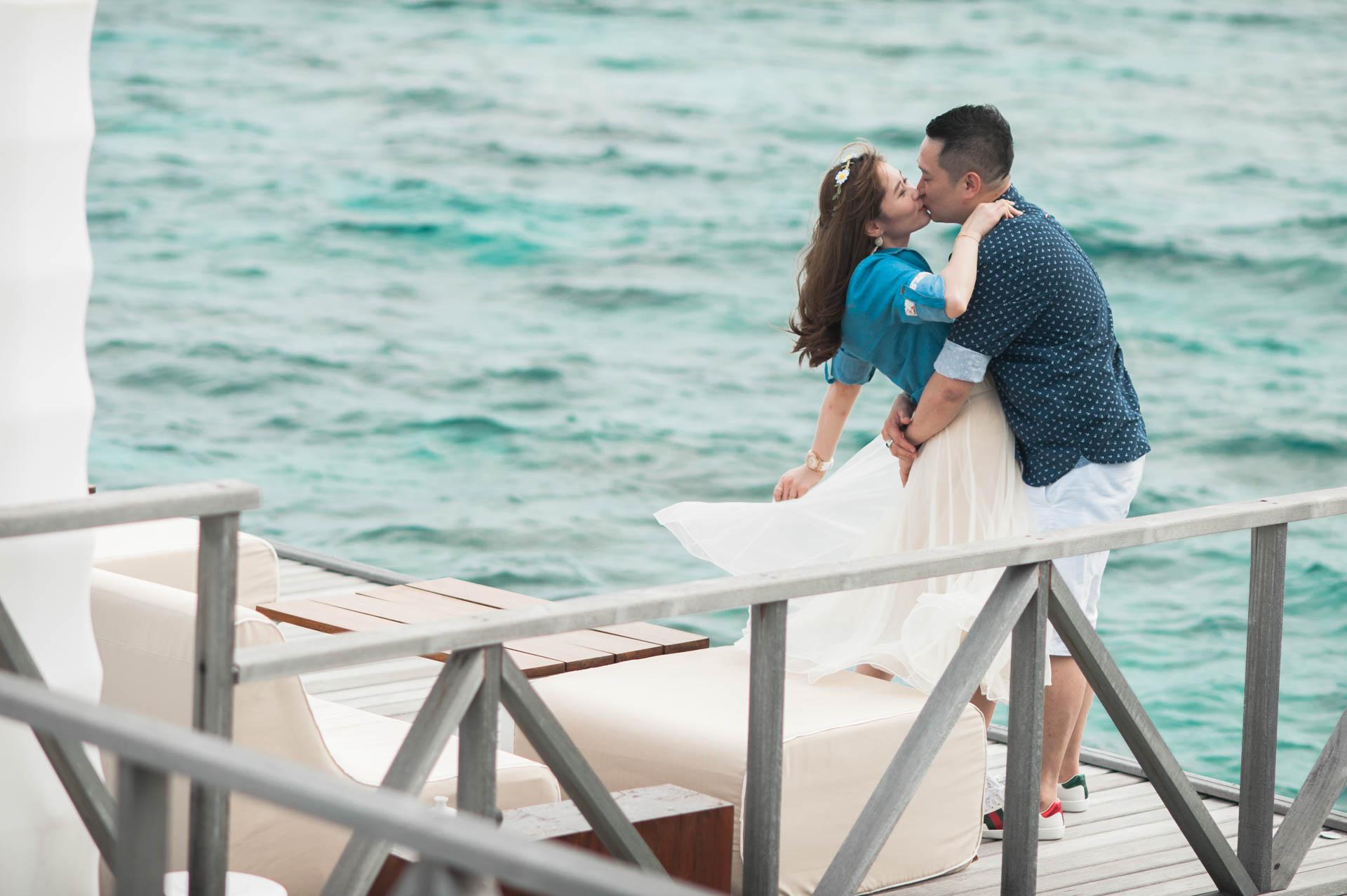 Chin Siew and Chin Yee Honeymoon in Maldives at Huvafen Fushi Resort Under Water Spa 40