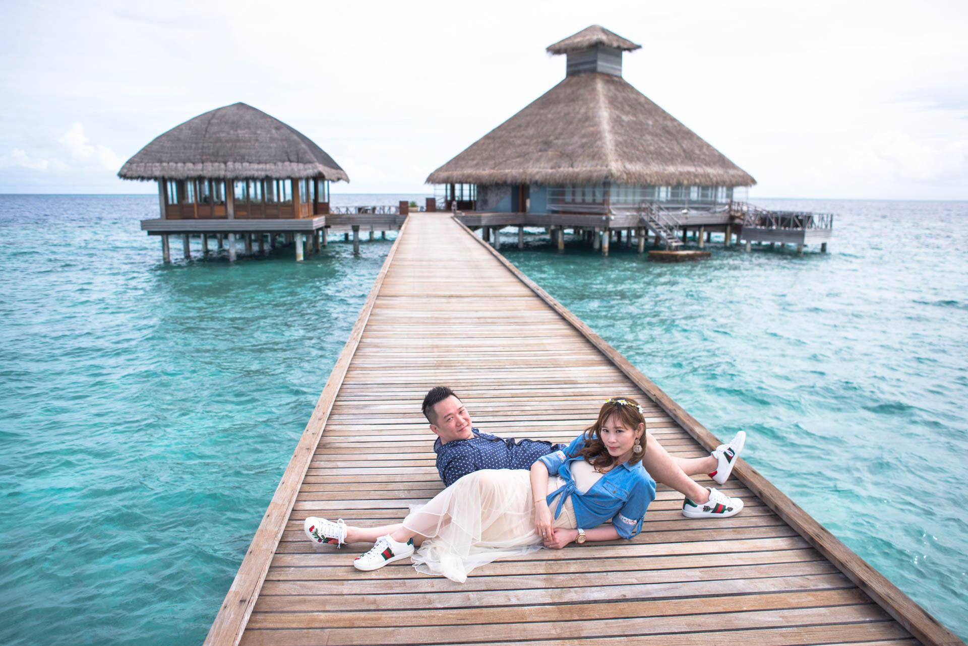 Chin Siew and Chin Yee Honeymoon in Maldives at Huvafen Fushi Resort Under Water Spa 9