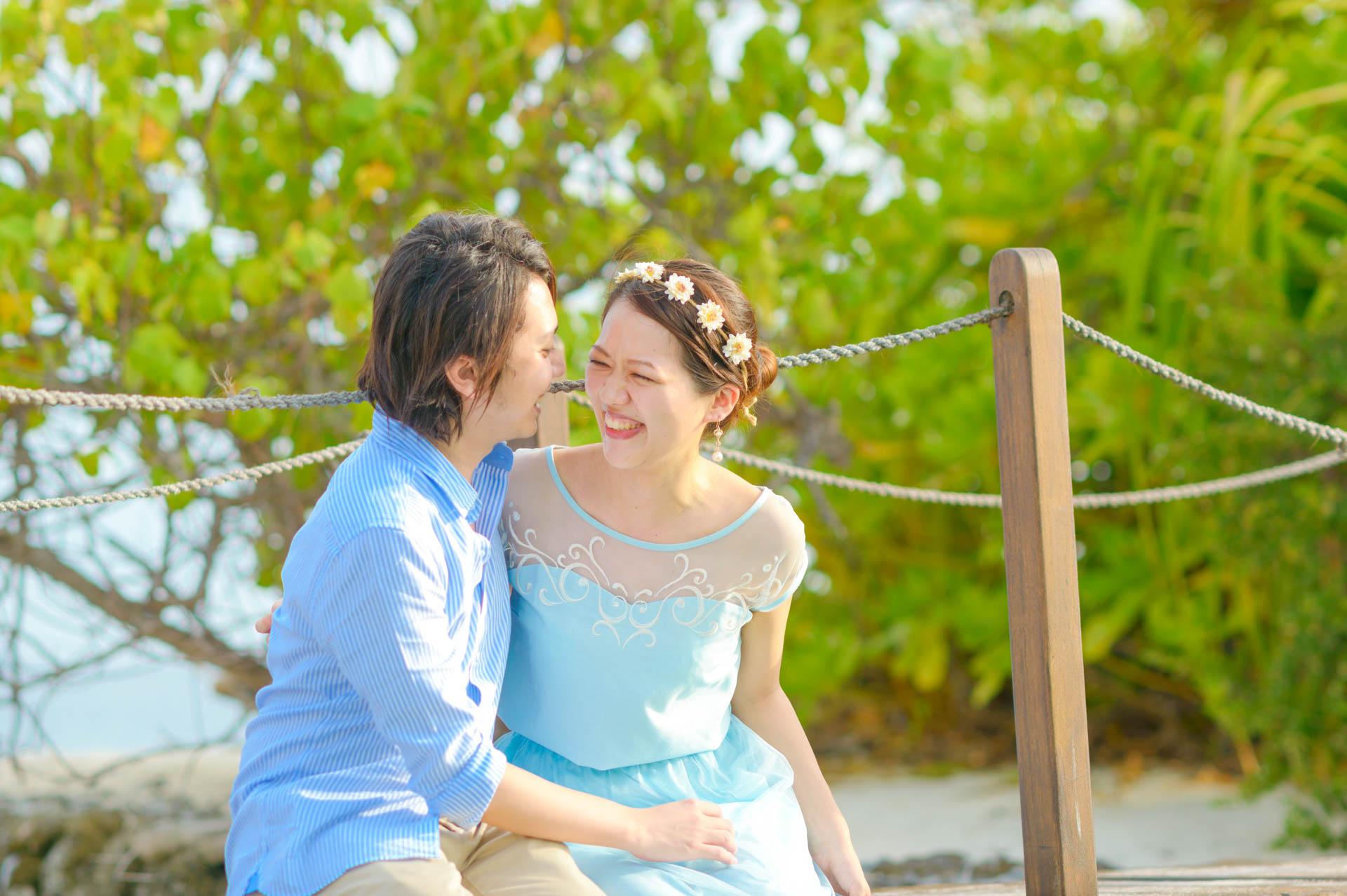 Devin and Natsuko Honeymoon at Makunudhoo Island Maldives 19