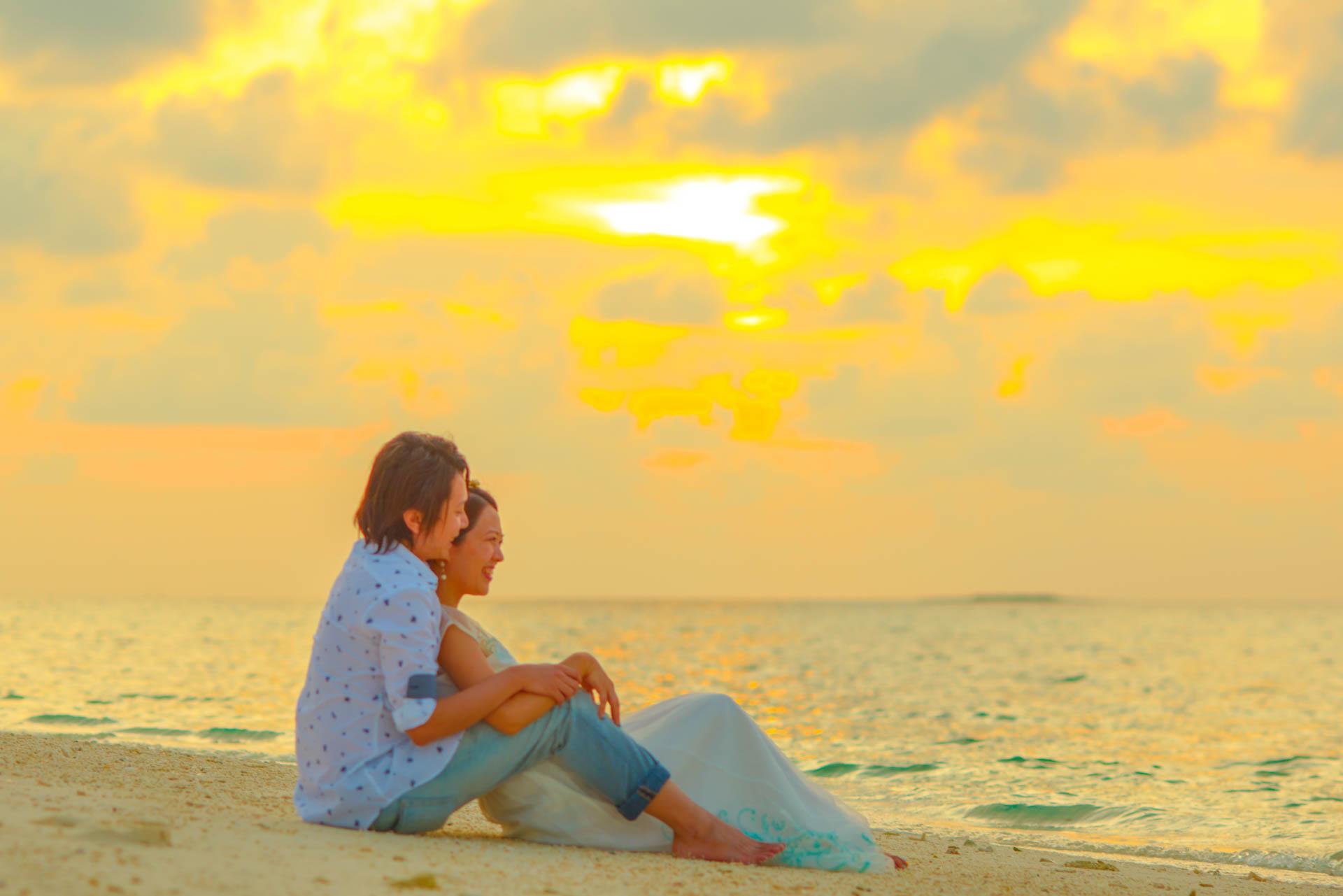 Devin and Natsuko Honeymoon at Makunudhoo Island Maldives 2