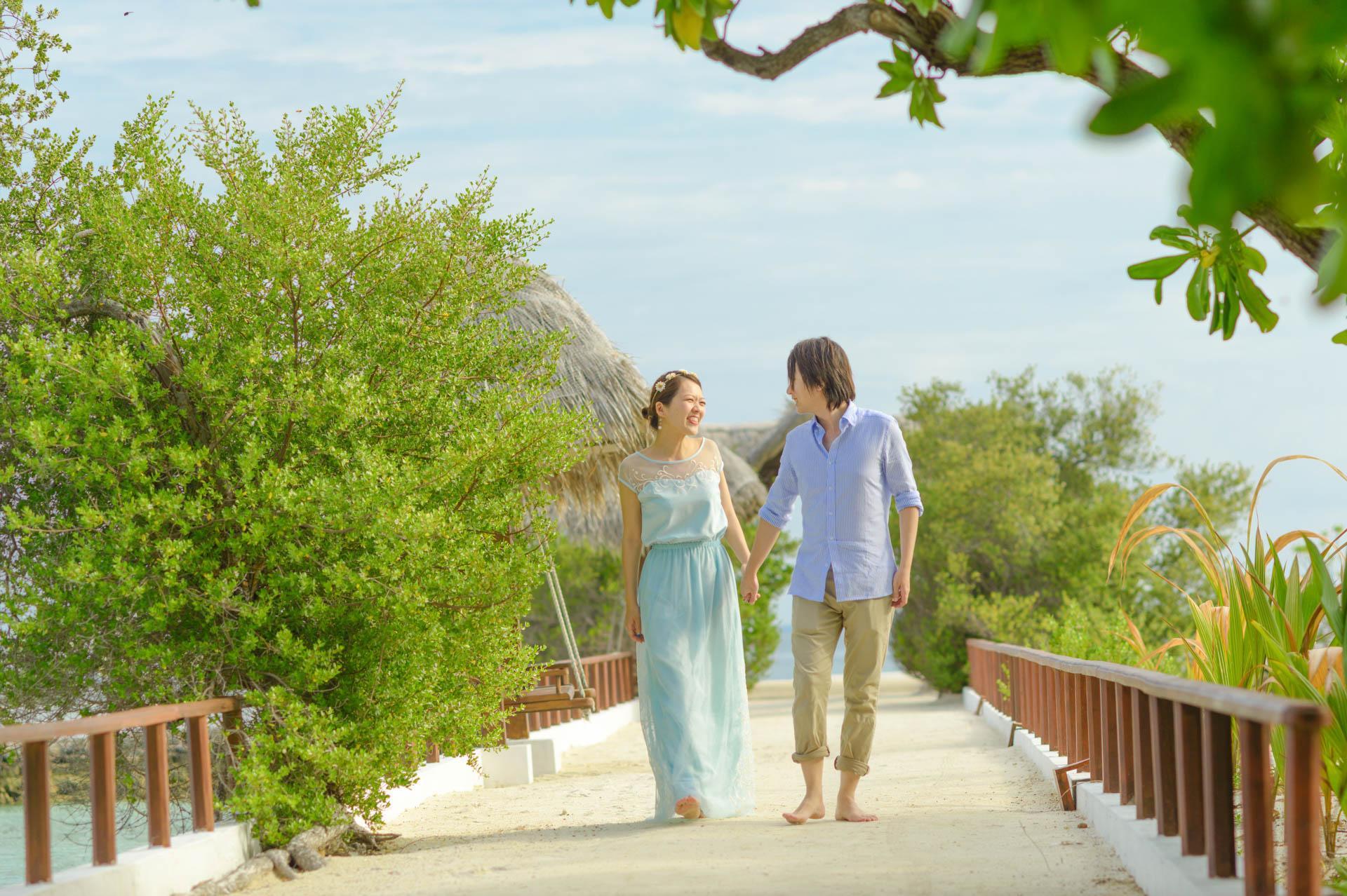 Devin and Natsuko Honeymoon at Makunudhoo Island Maldives 24