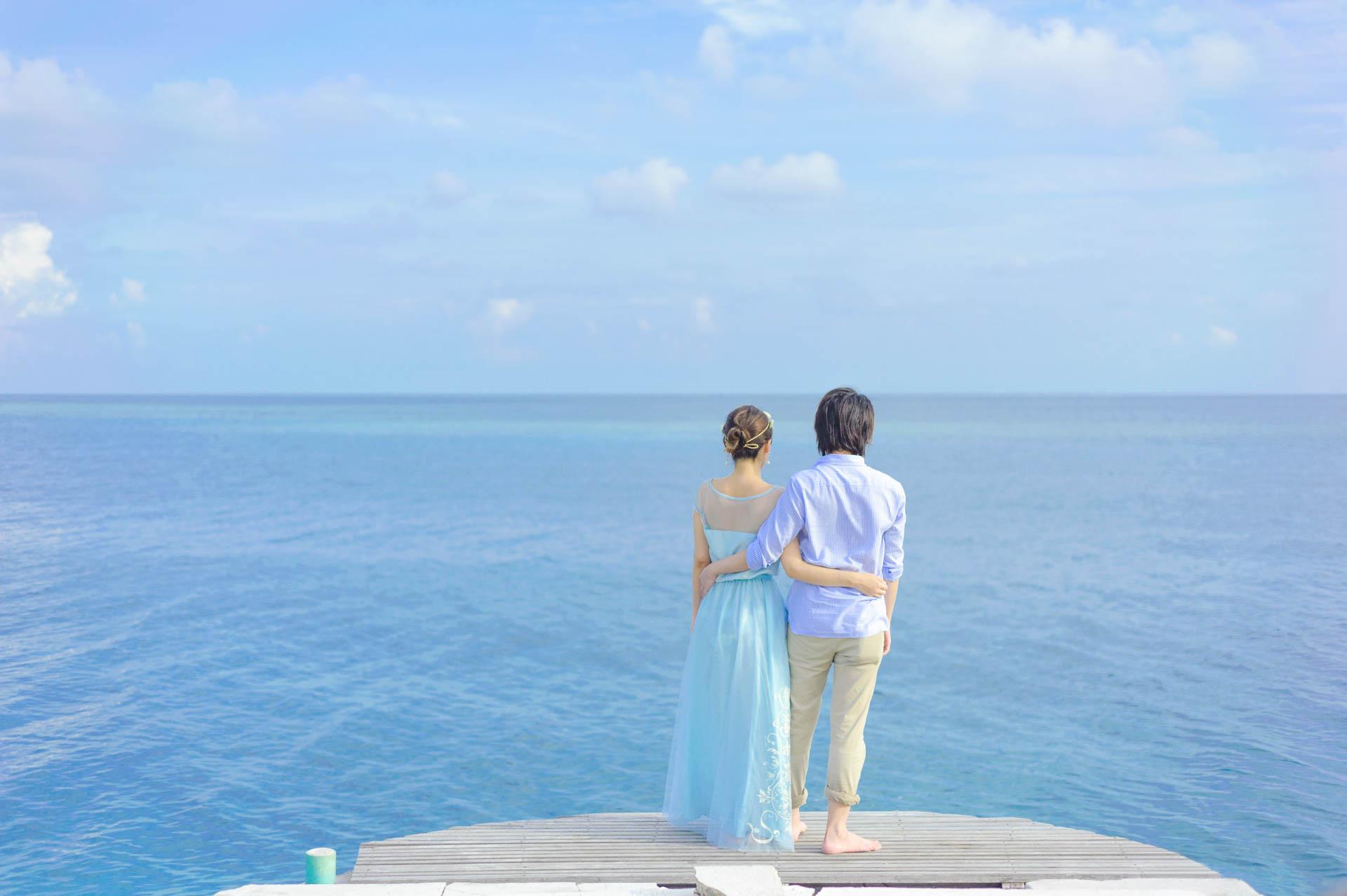 Devin and Natsuko Honeymoon at Makunudhoo Island Maldives 50