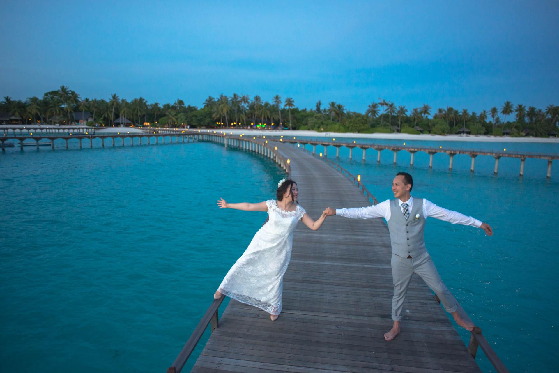 Grace Wu and Geral Meow at Sun Siyam Irufushi Maldives in Noonu Atoll 52