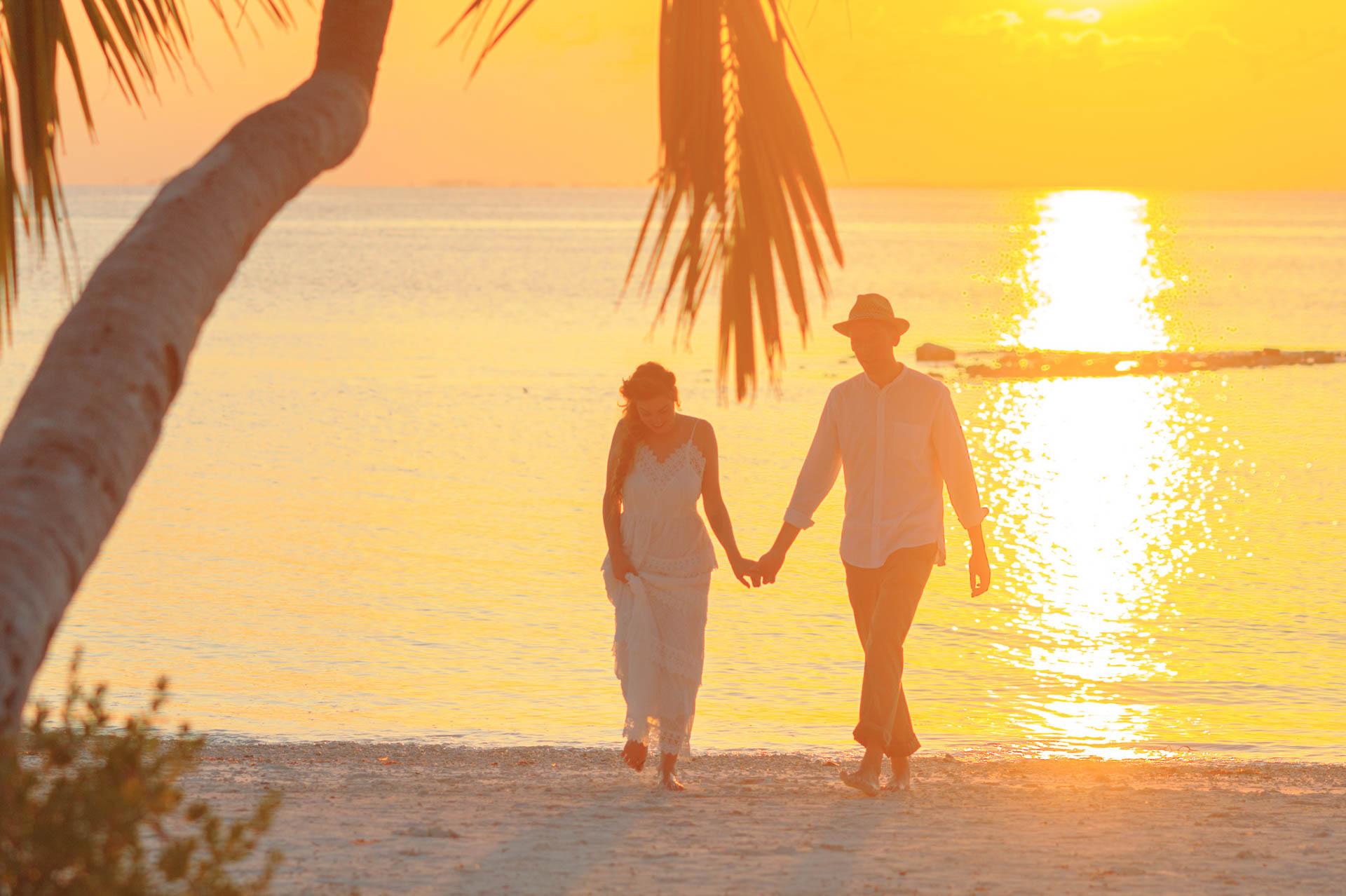 Heike Michaels Beach Wedding in Maldives 33