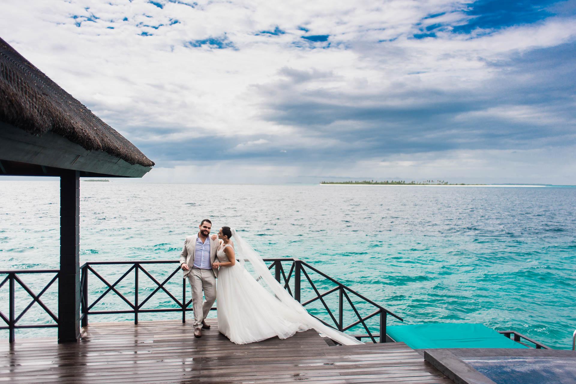 Ibrahim and Tamara at Ja Manafaru The north Most Resort of Maldives 10