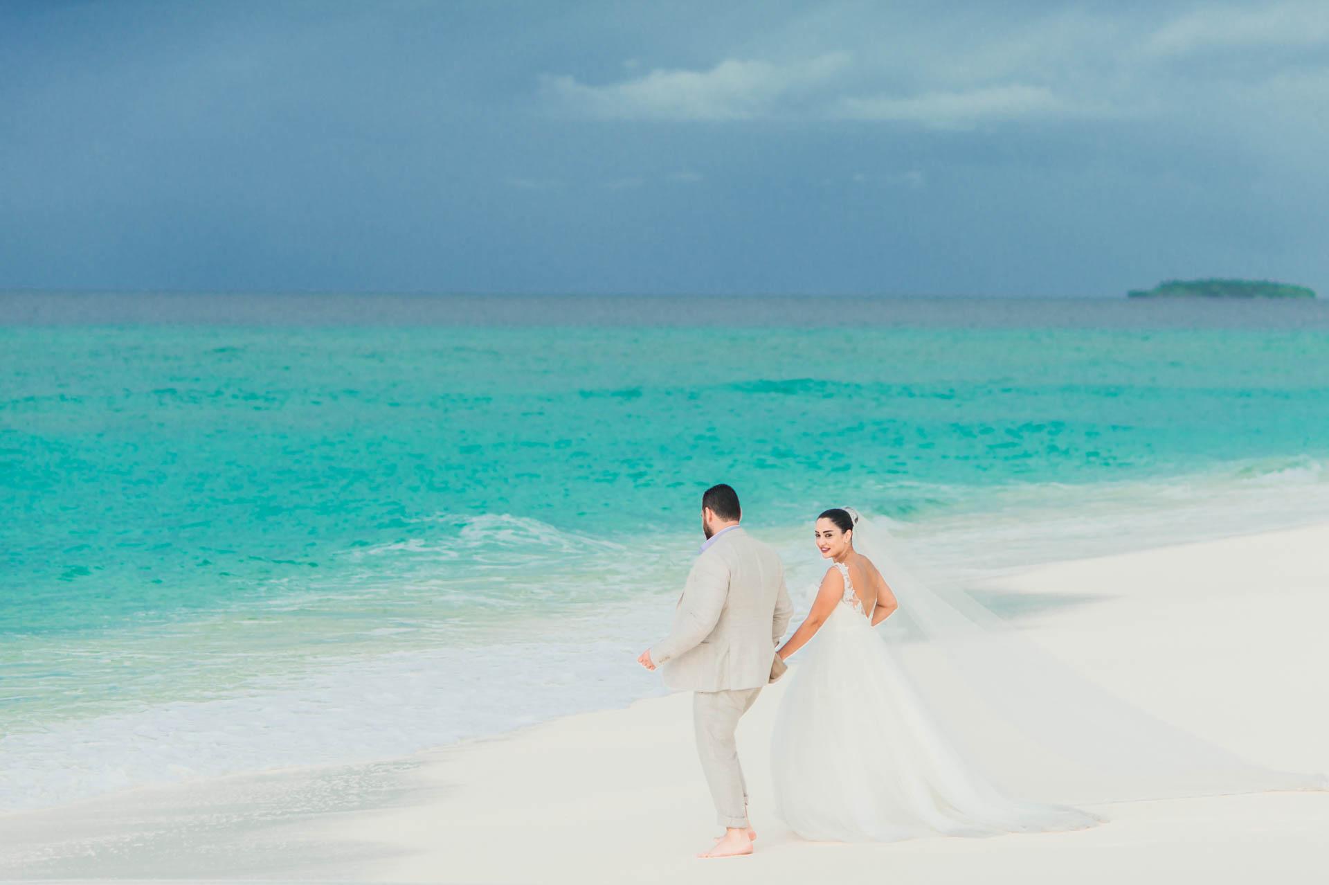 Ibrahim and Tamara at Ja Manafaru The north Most Resort of Maldives 12