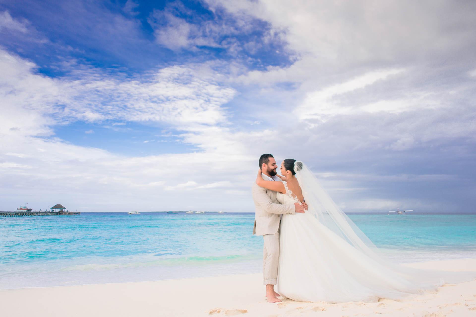Ibrahim and Tamara at Ja Manafaru The north Most Resort of Maldives 3