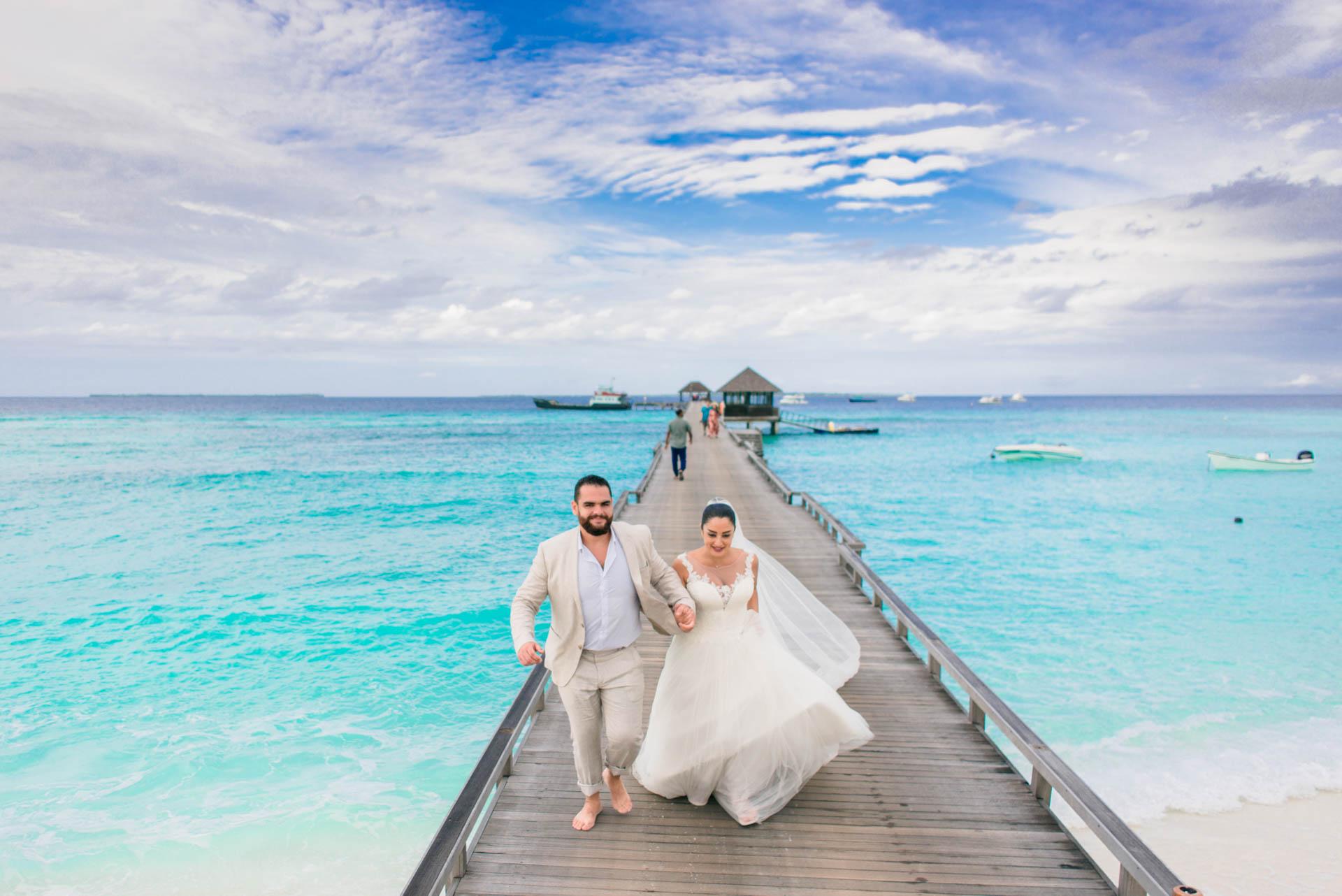 Ibrahim and Tamara at Ja Manafaru The north Most Resort of Maldives 4