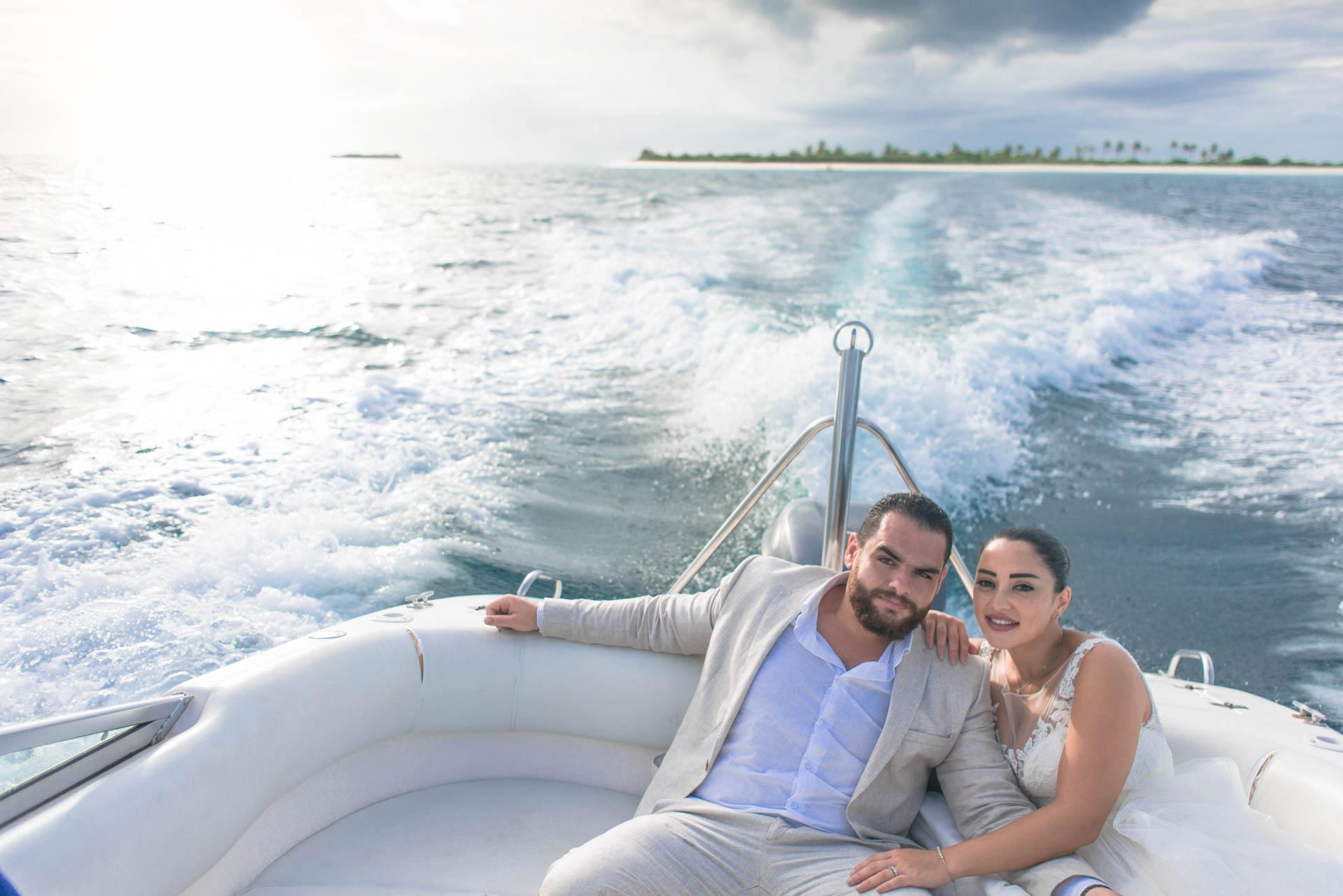 Ibrahim and Tamara at Ja Manafaru The north Most Resort of Maldives 5