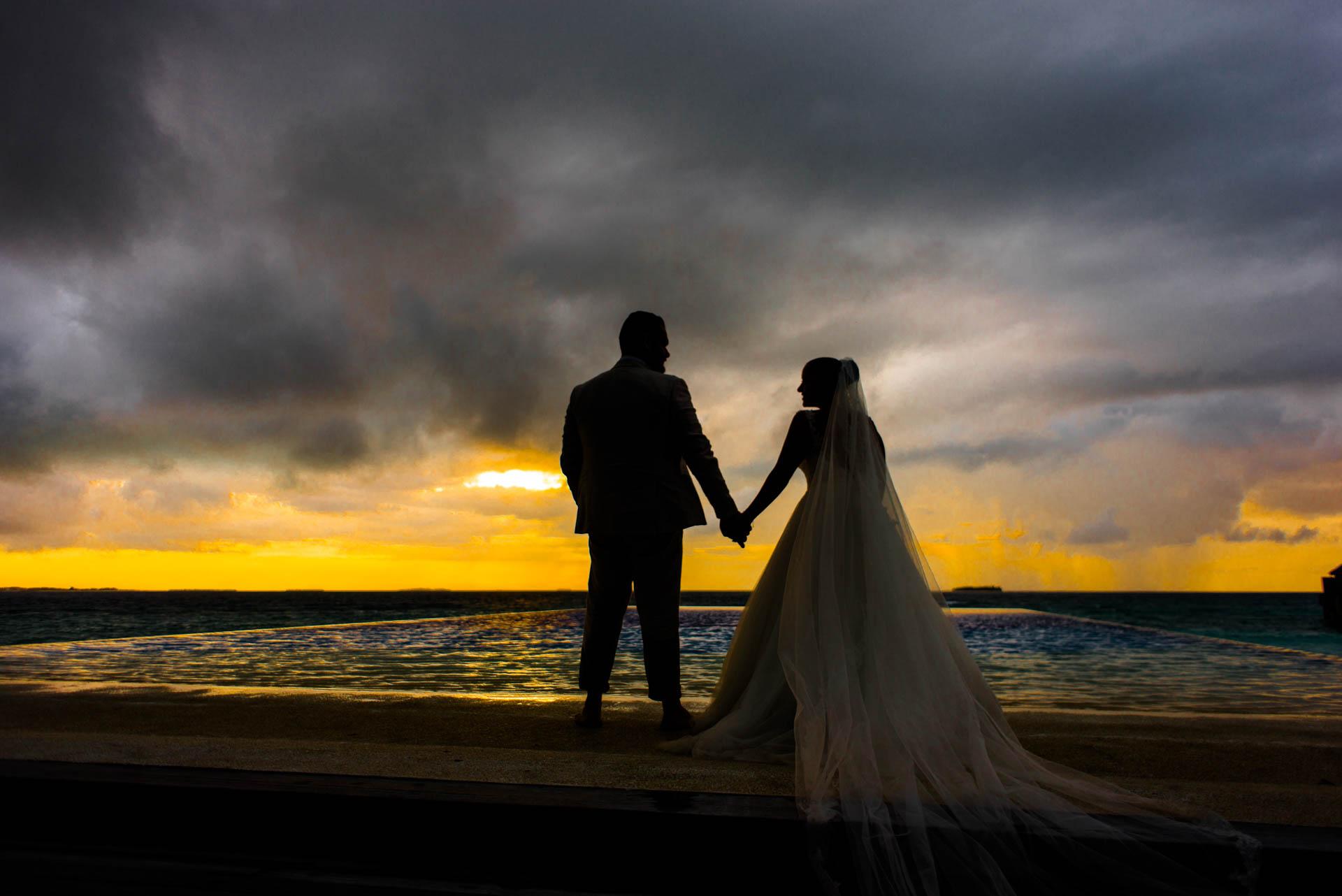 Ibrahim and Tamara at Ja Manafaru The north Most Resort of Maldives 6