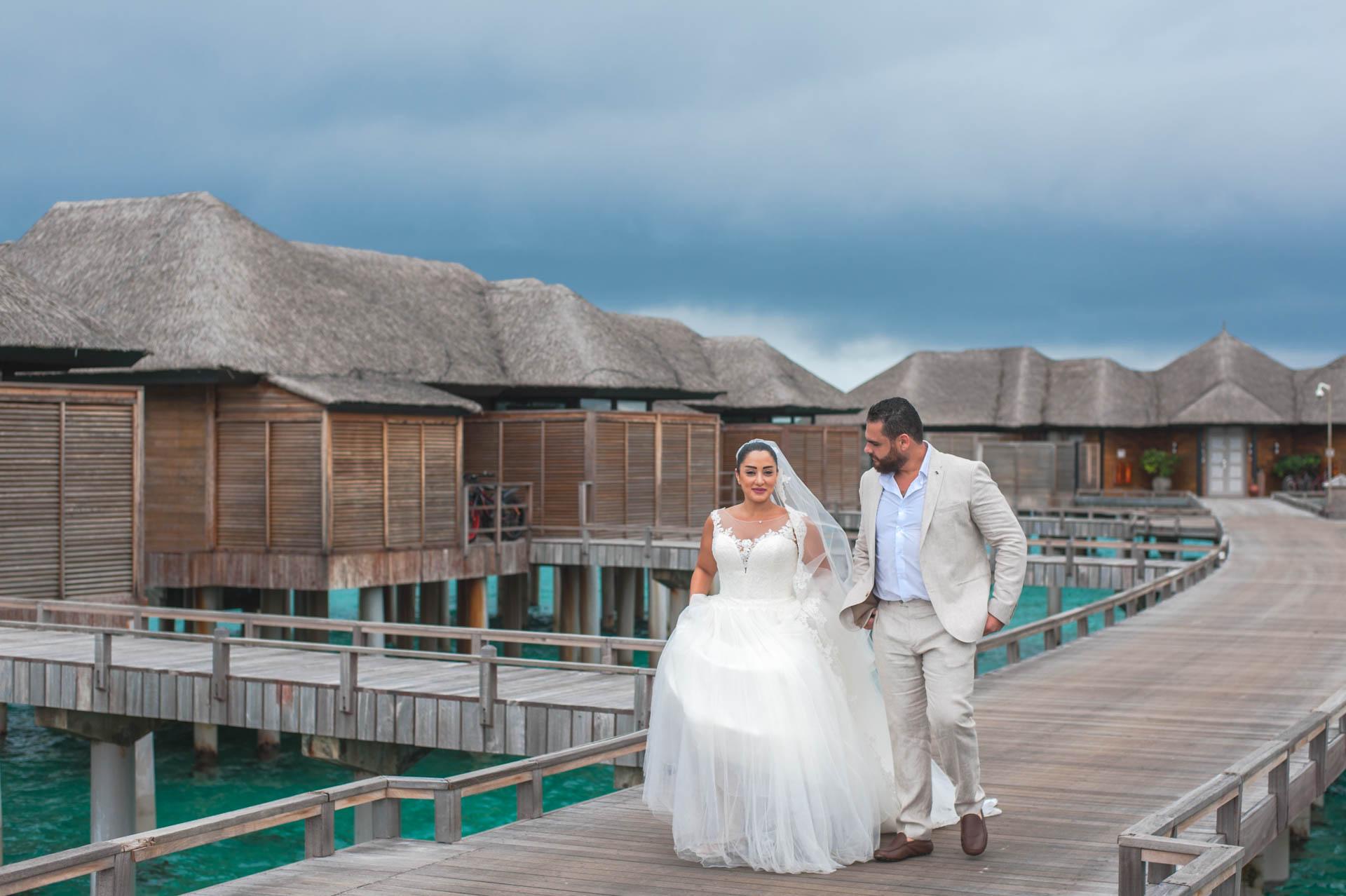 Ibrahim and Tamara at Ja Manafaru The north Most Resort of Maldives 7