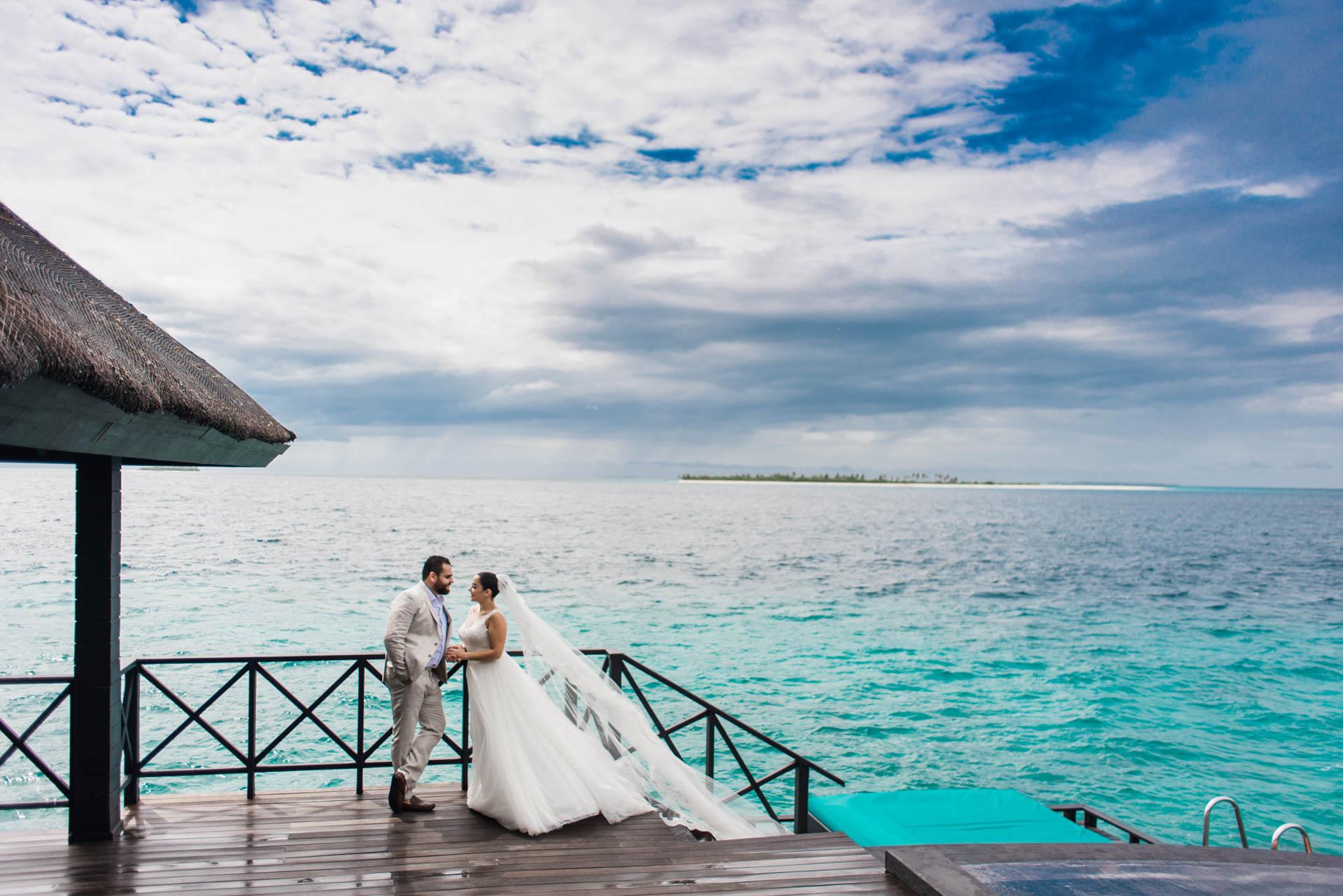 Ibrahim and Tamara at Ja Manafaru The north Most Resort of Maldives 9
