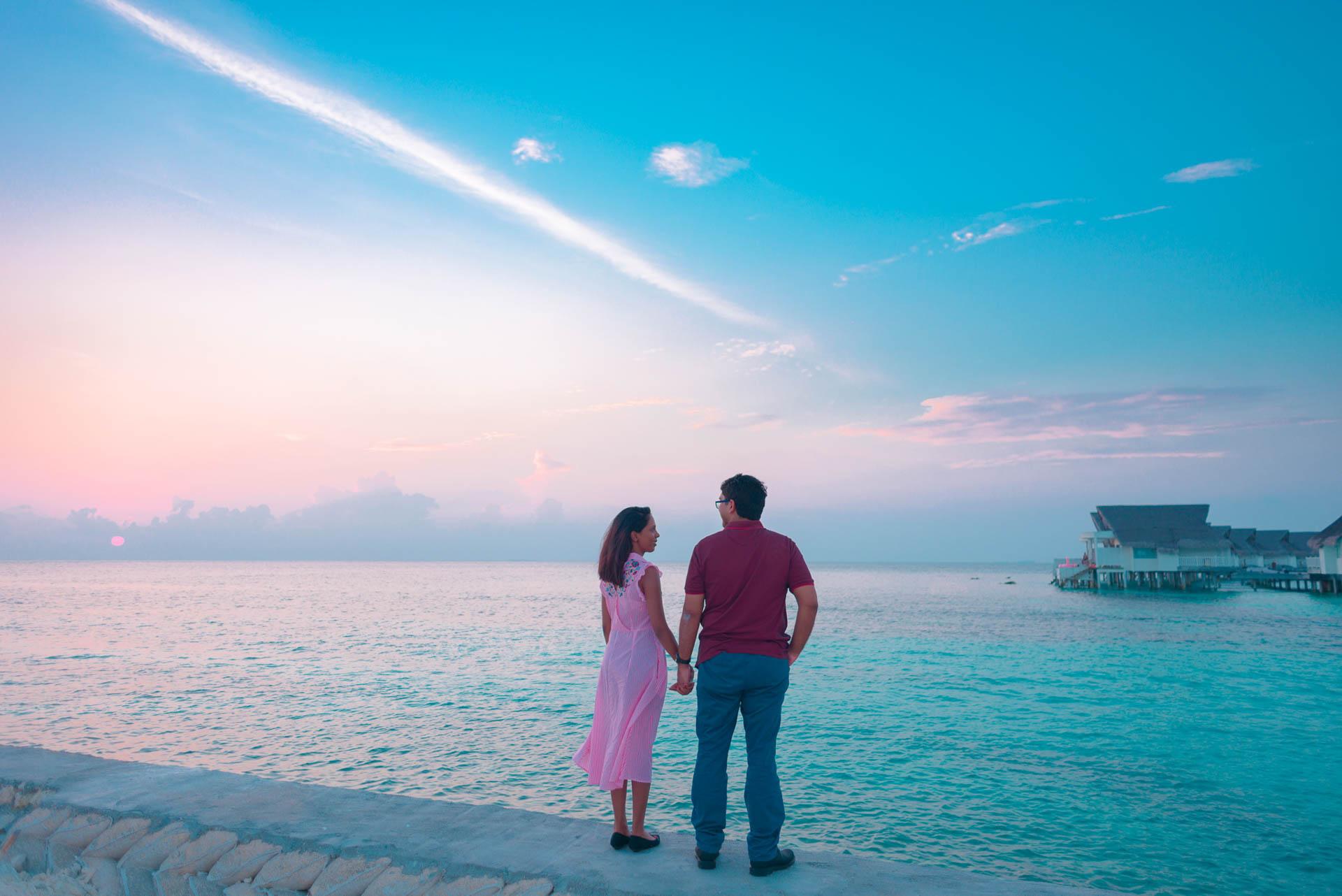 Iyad and Shabneez Honeymoon at Centara Grand 4