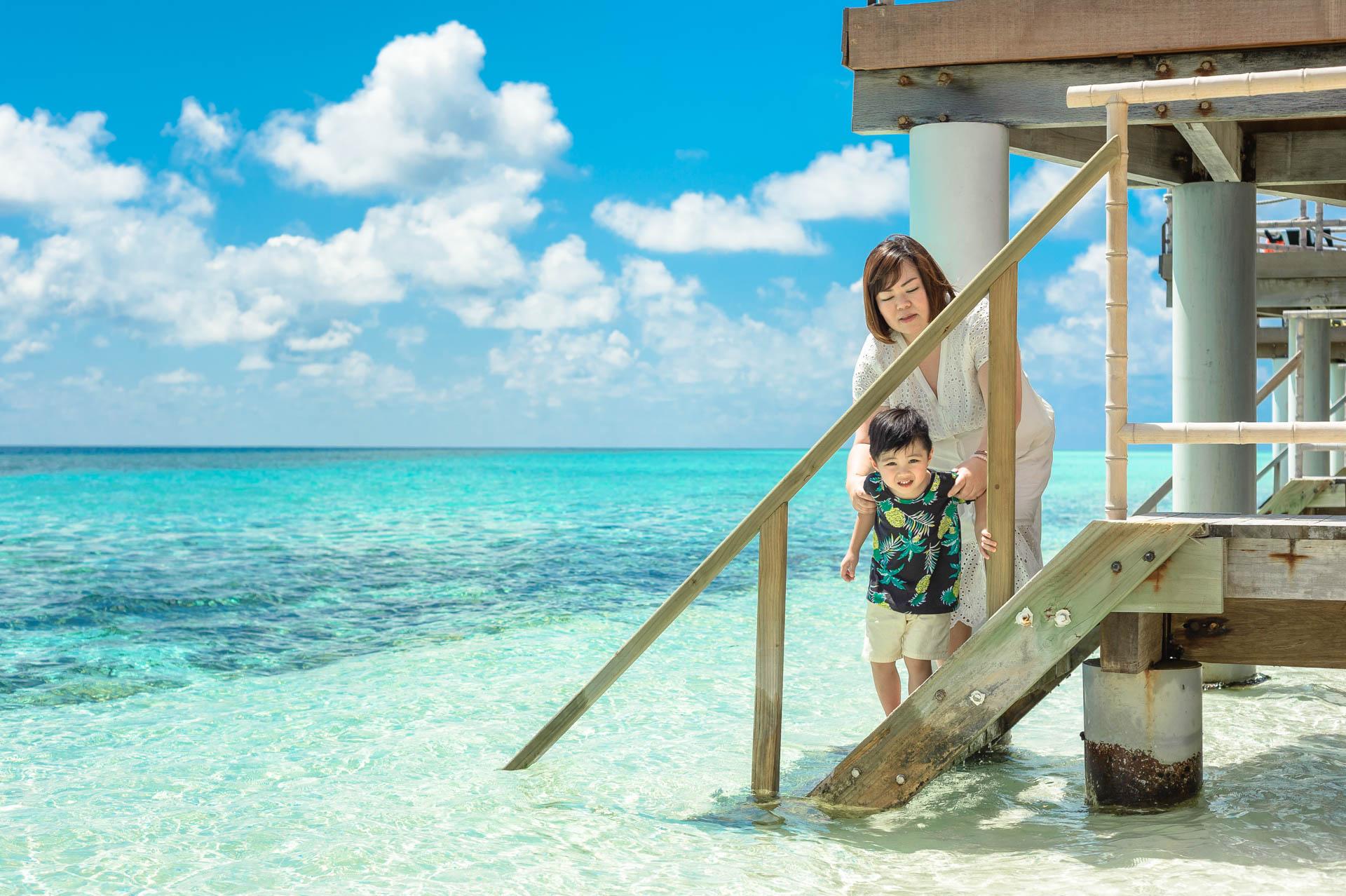 Jos Extended Family at Constance Moofushi Maldives 11