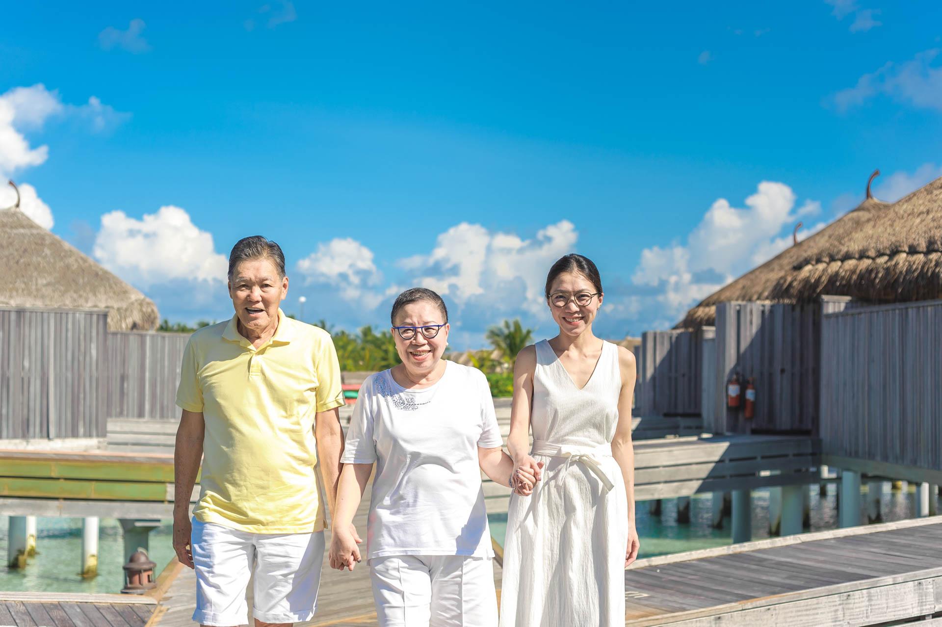 Jos Extended Family at Constance Moofushi Maldives 25