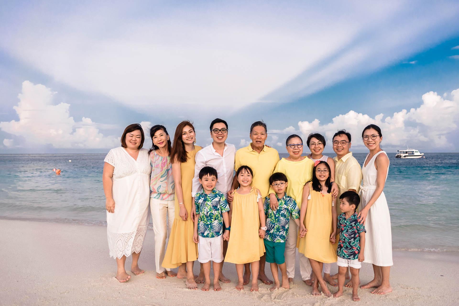 Jos Extended Family at Constance Moofushi Maldives 3