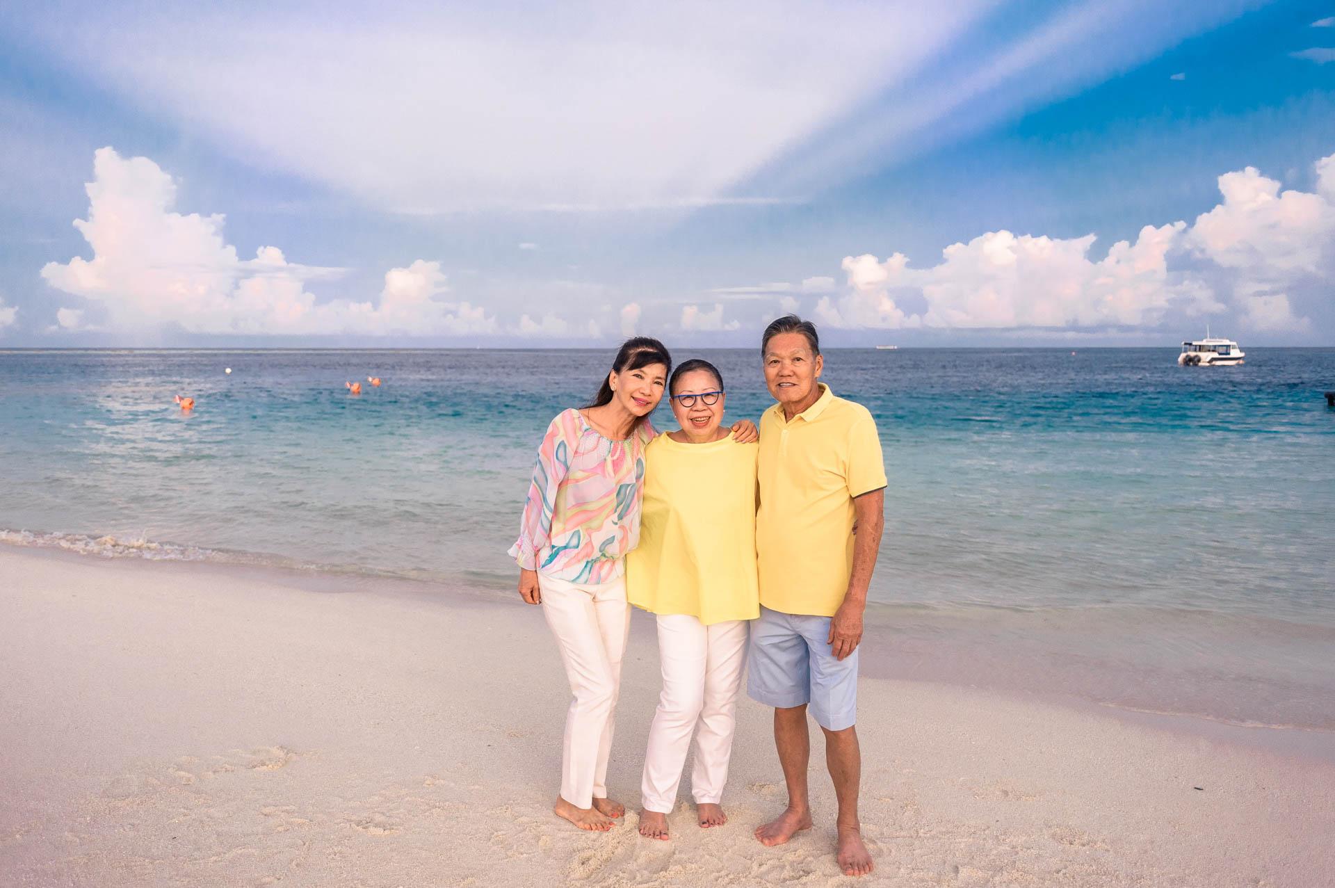 Jos Extended Family at Constance Moofushi Maldives 4