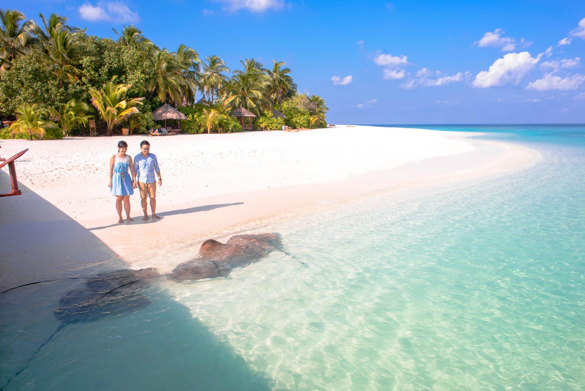 KJ WK at Banyan Tree Vabbinfaru Maldives 5