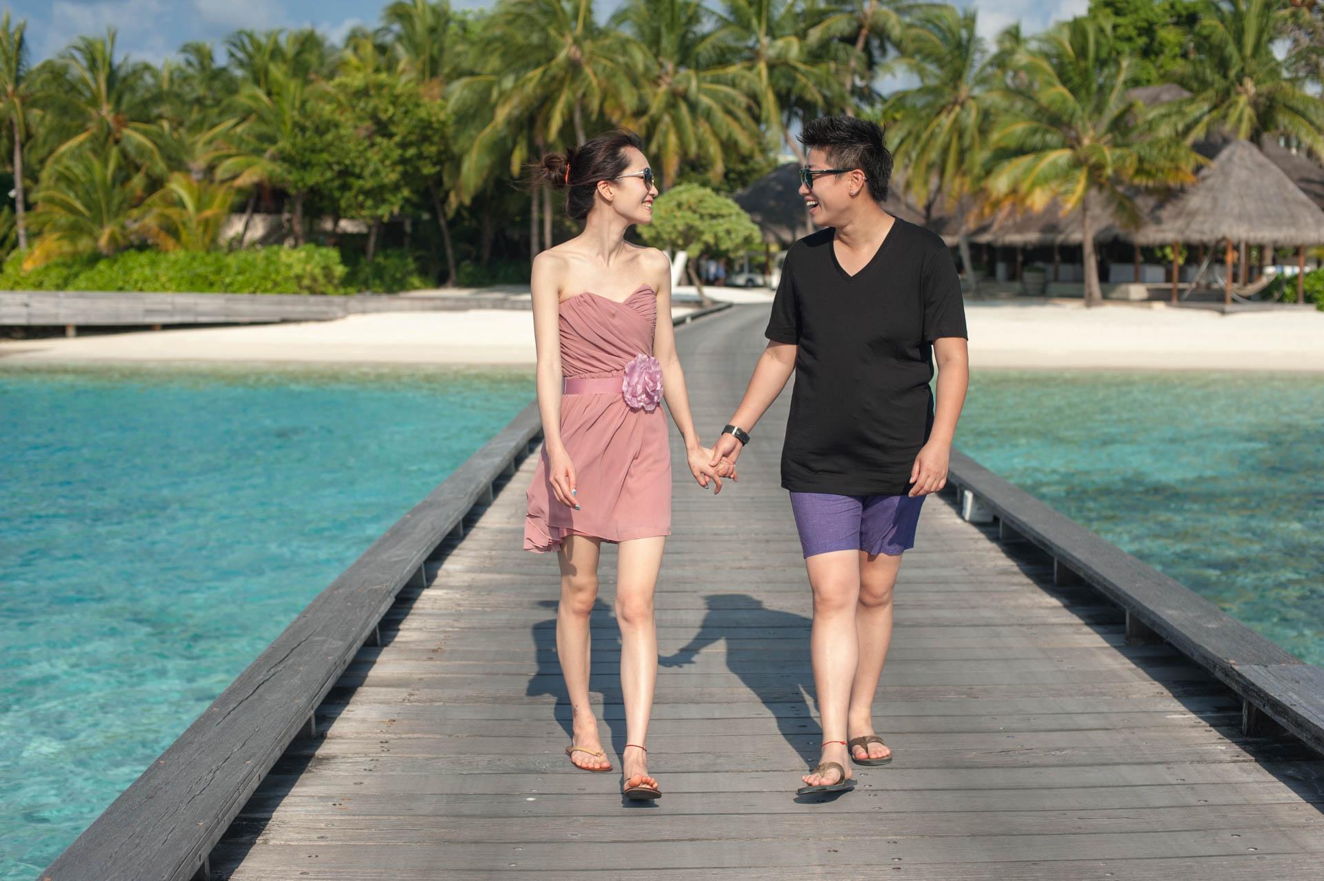 Kit Chen at W Maldives by Asad 6