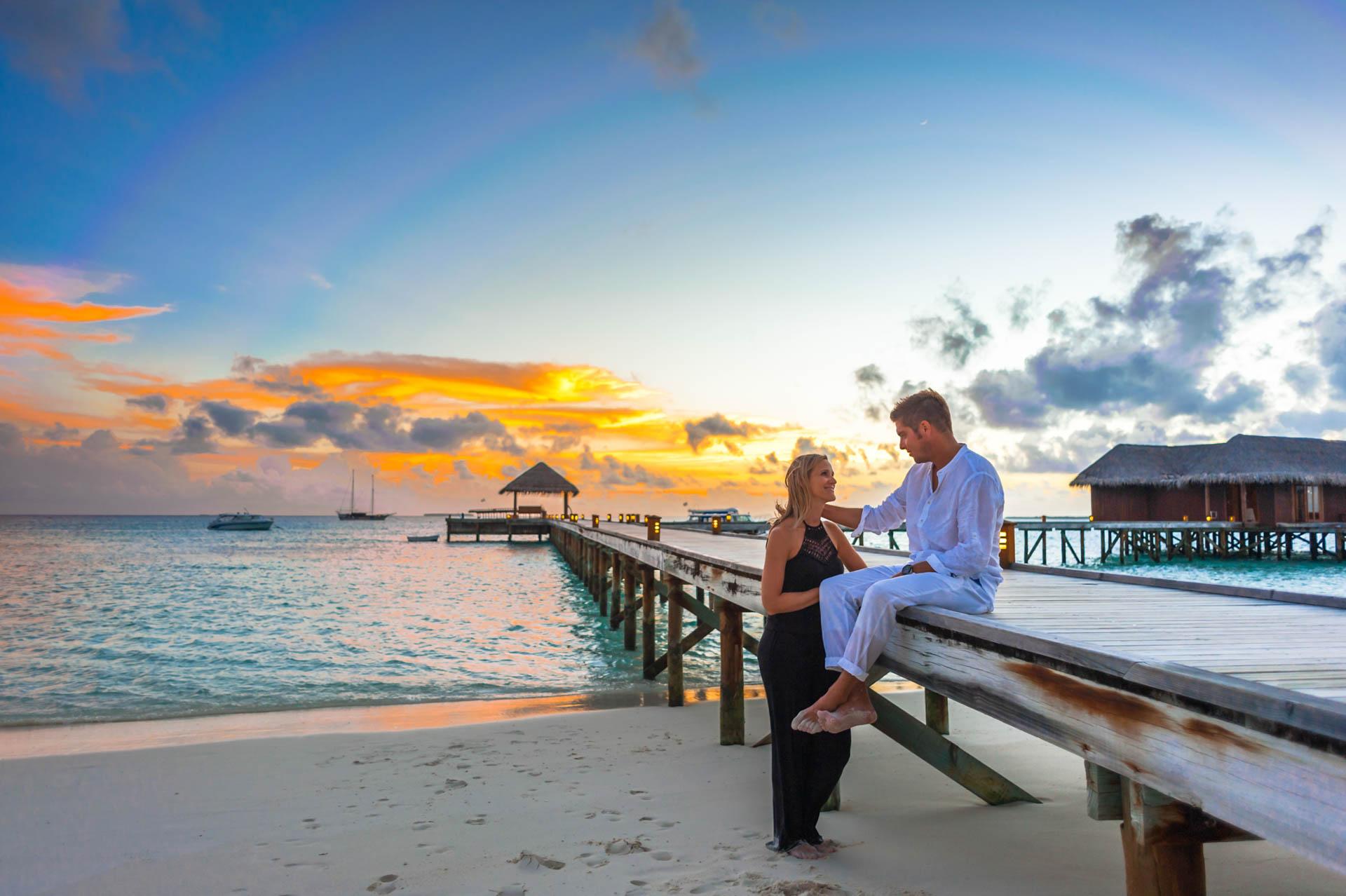 Kristina Andreas Anniversary at Mirihi Island Resort 13