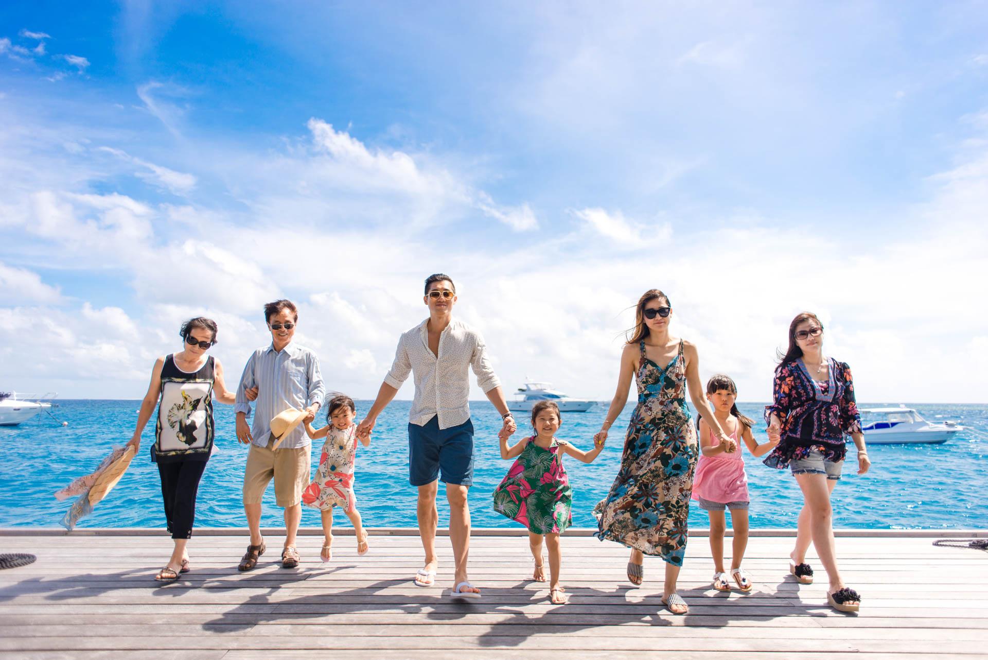 Mr Koo Family at Four Seasons Landaagiraavaru 10