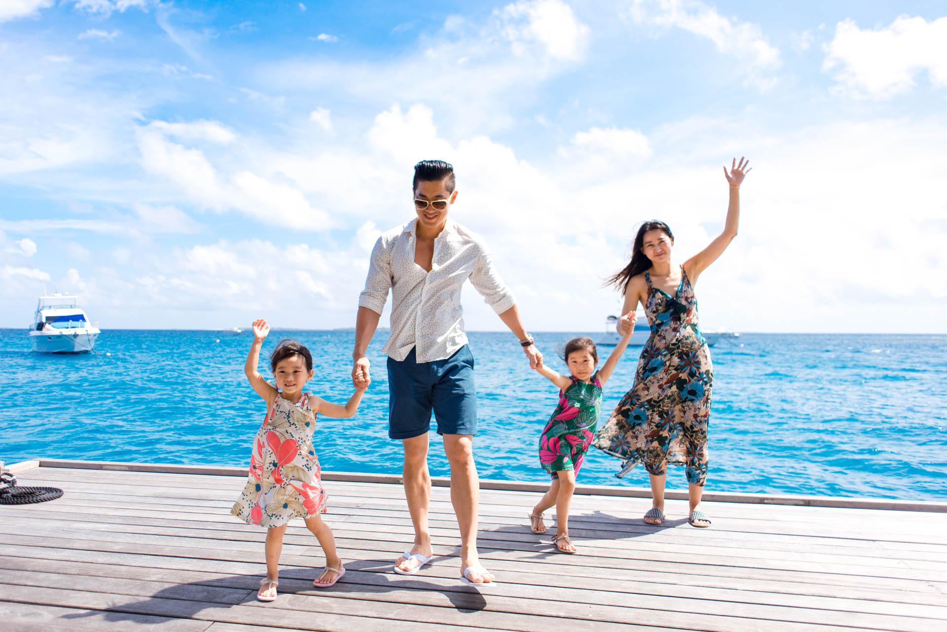 Mr Koo Family at Four Seasons Landaagiraavaru 11