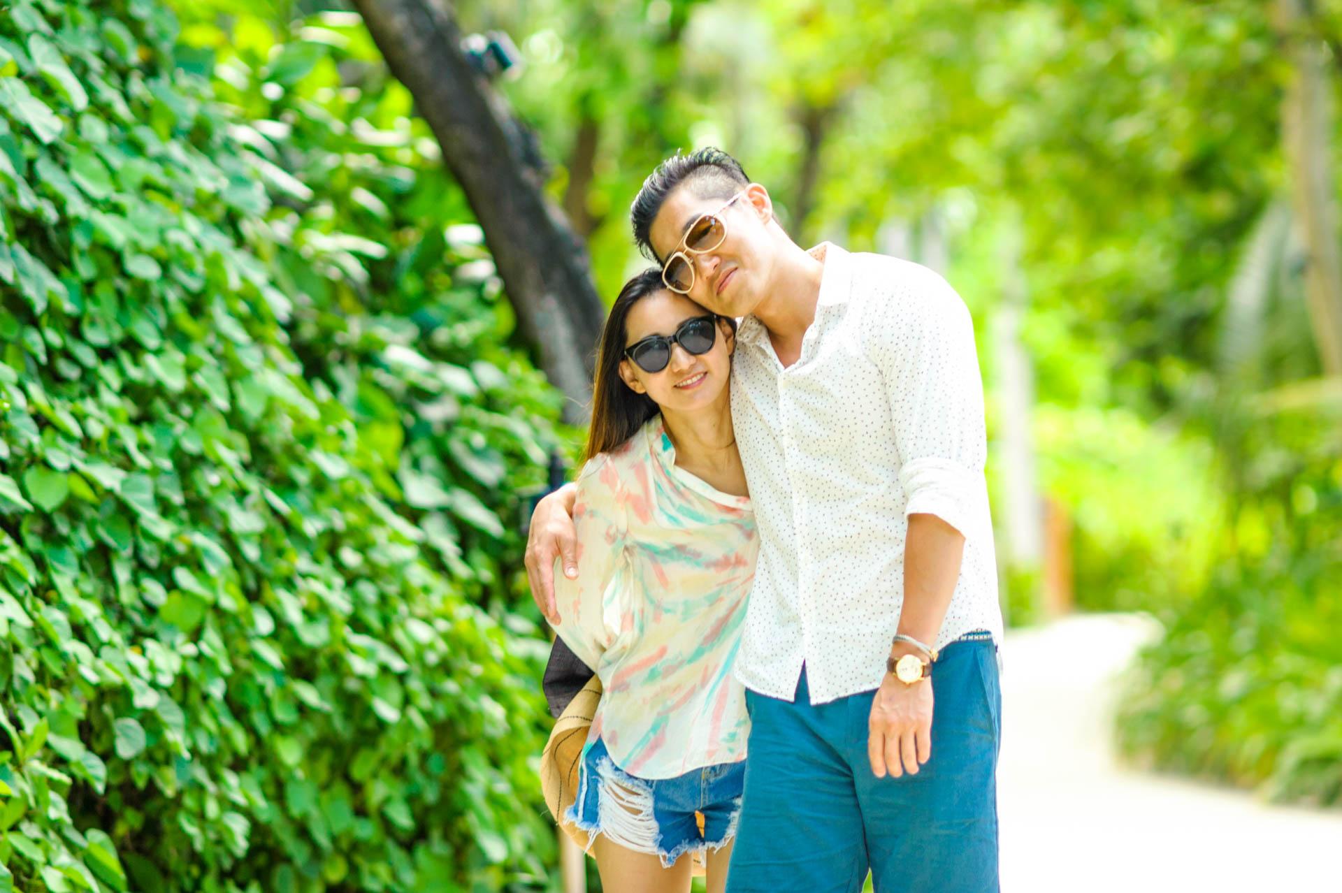 Mr Koo Family at Four Seasons Landaagiraavaru 16