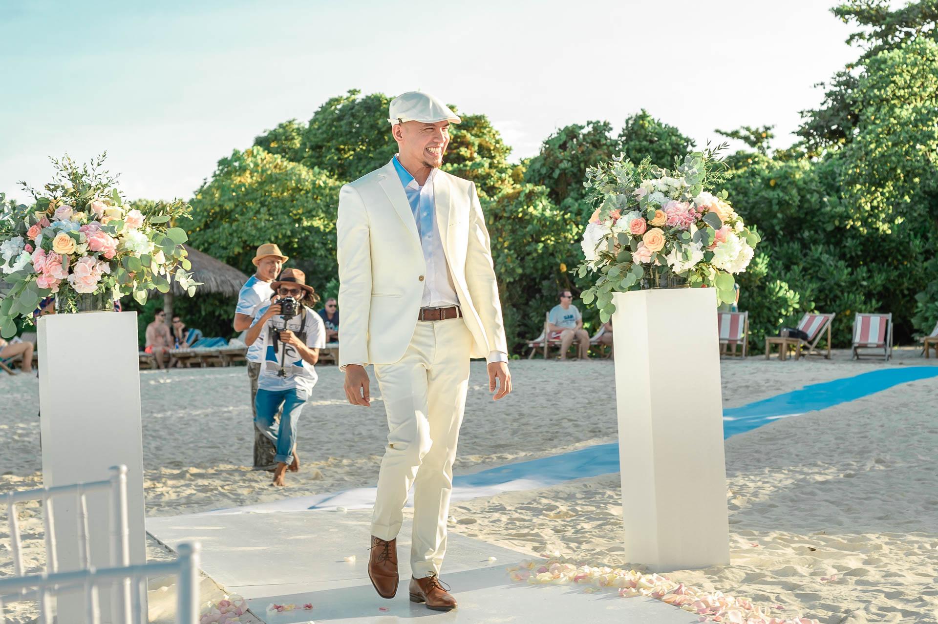 Nuah Angel Maldives Wedding at Reethi Faru Resort by Asad 278