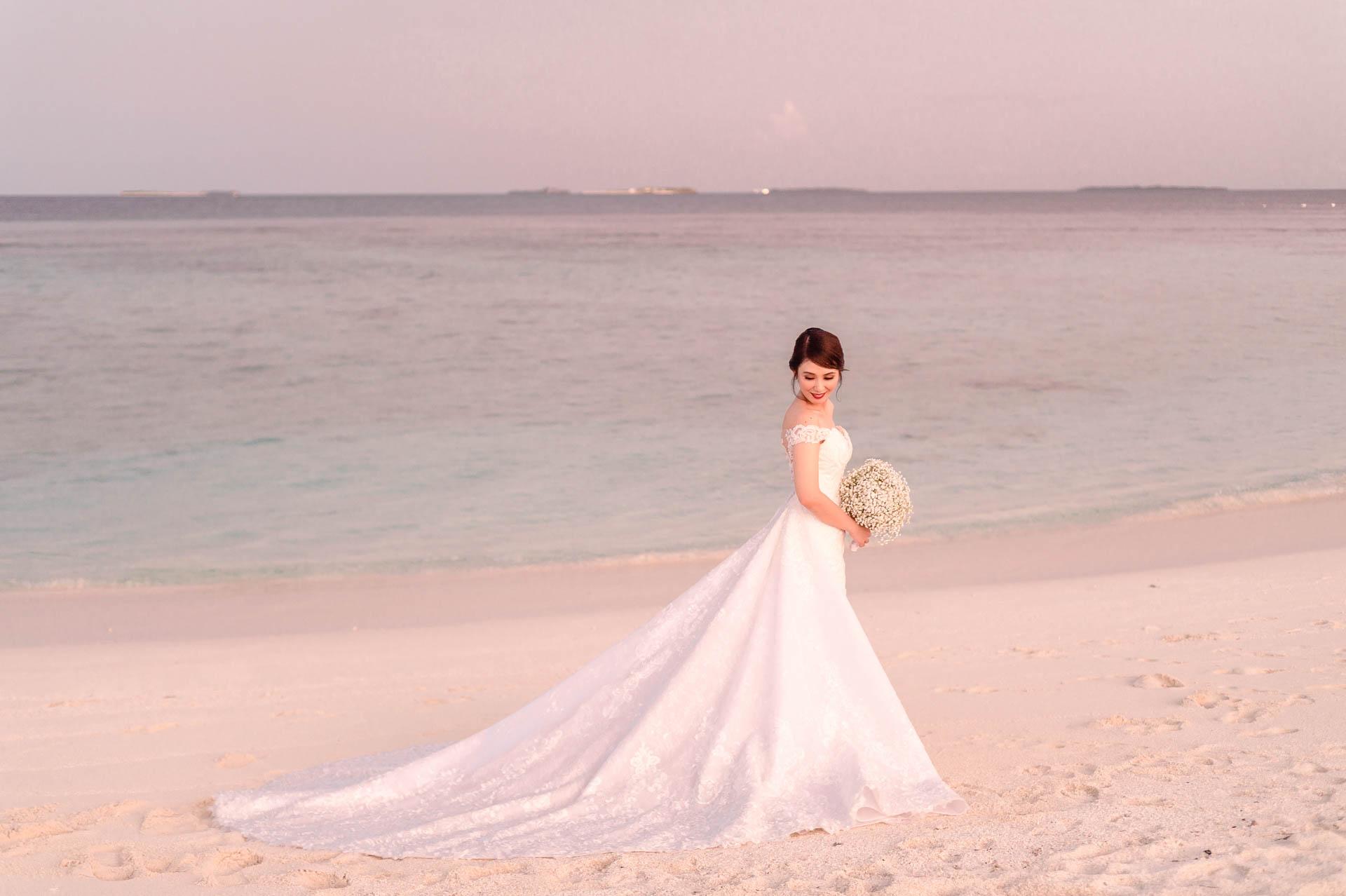 Nuah Angel Maldives Wedding at Reethi Faru Resort by Asad 495