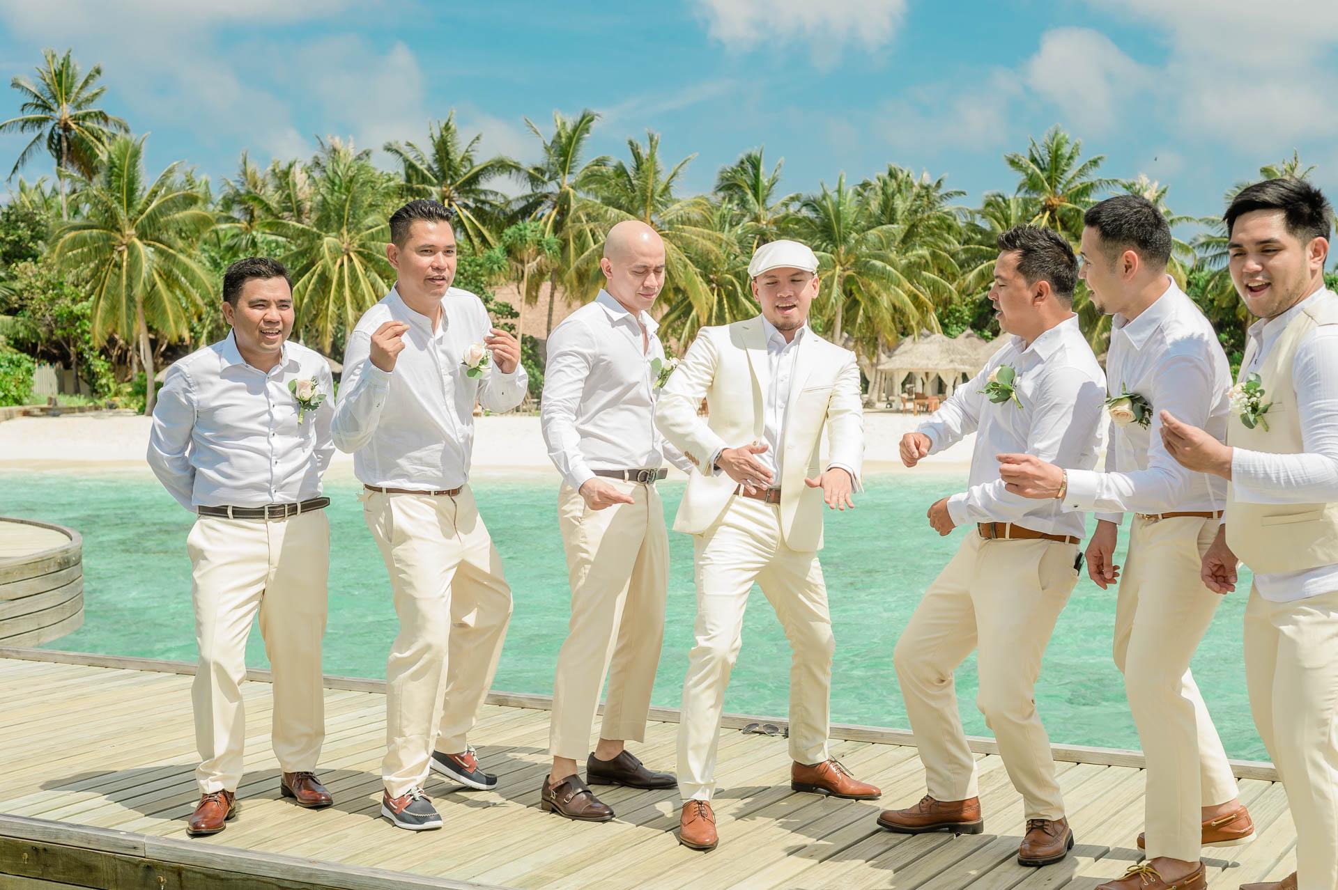 Nuah Angel Maldives Wedding at Reethi Faru Resort by Asad 78