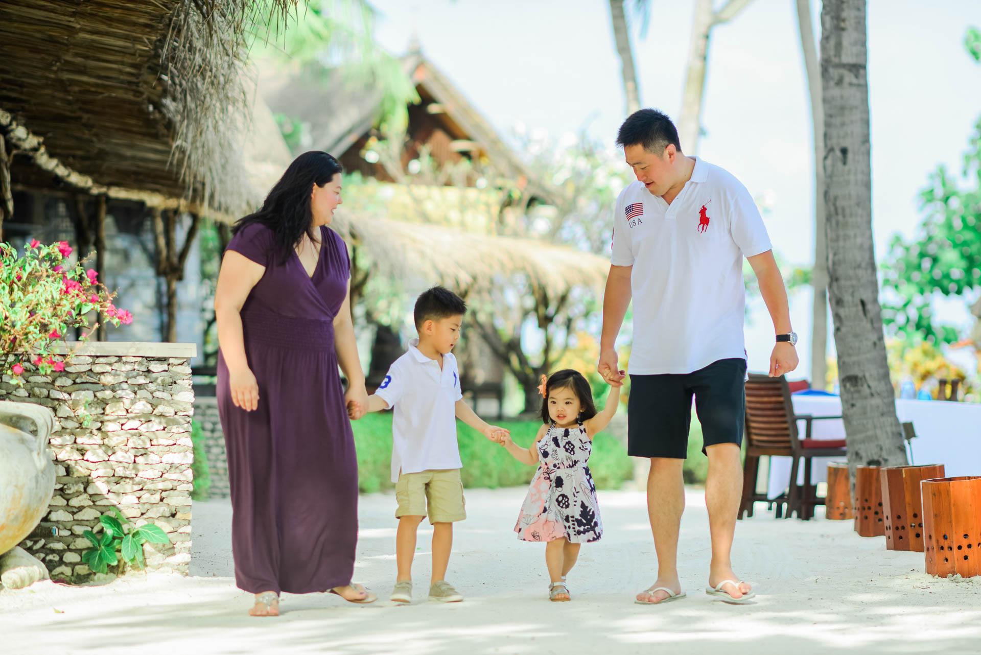 Rosa Family at Four seaons Maldives 19