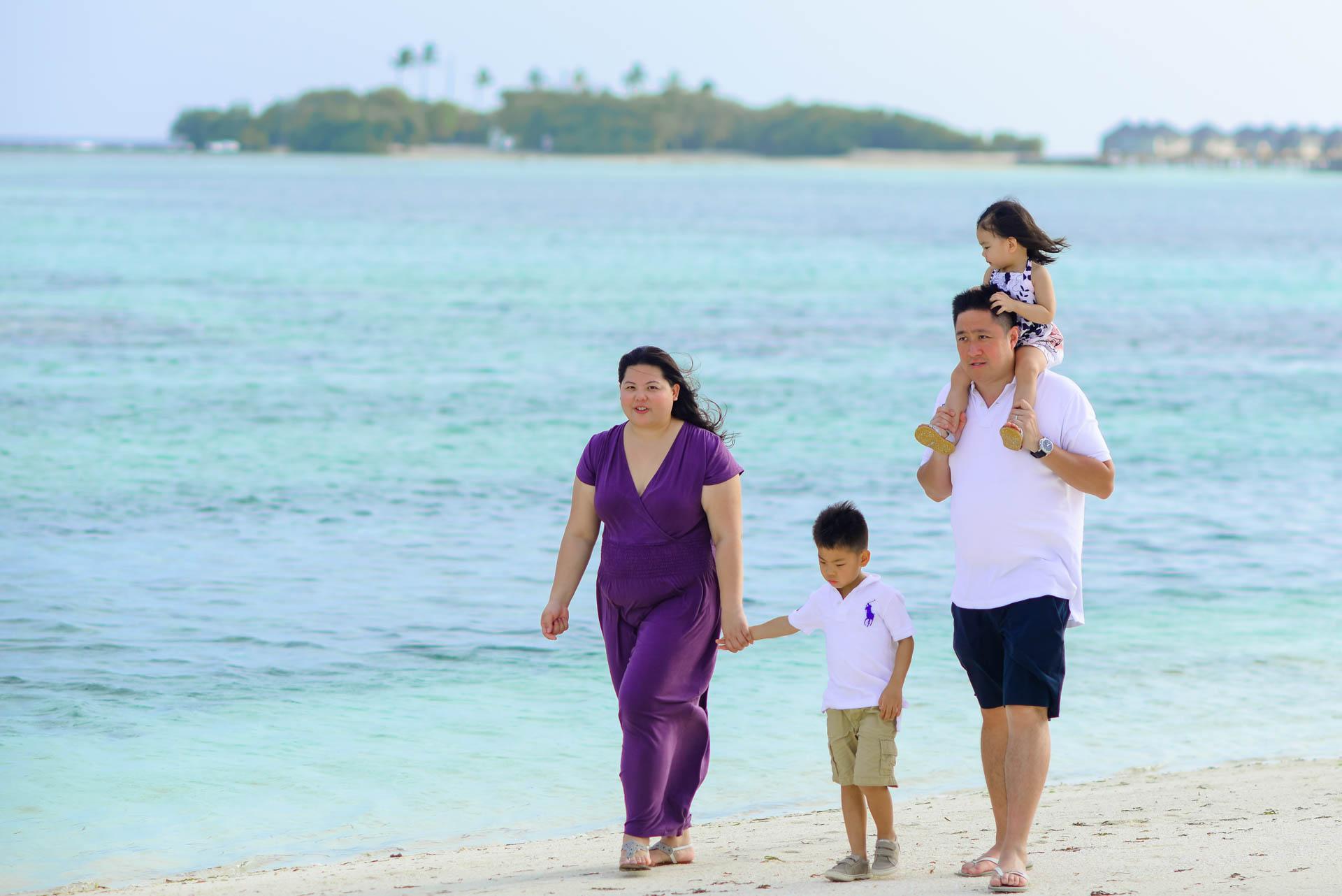 Rosa Family at Four seaons Maldives 36