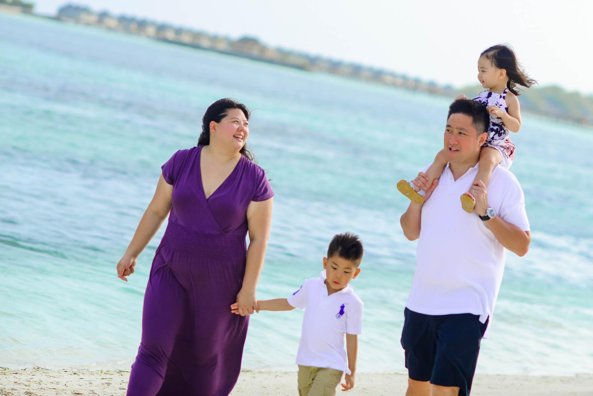 Rosa Family at Four seaons Maldives 38