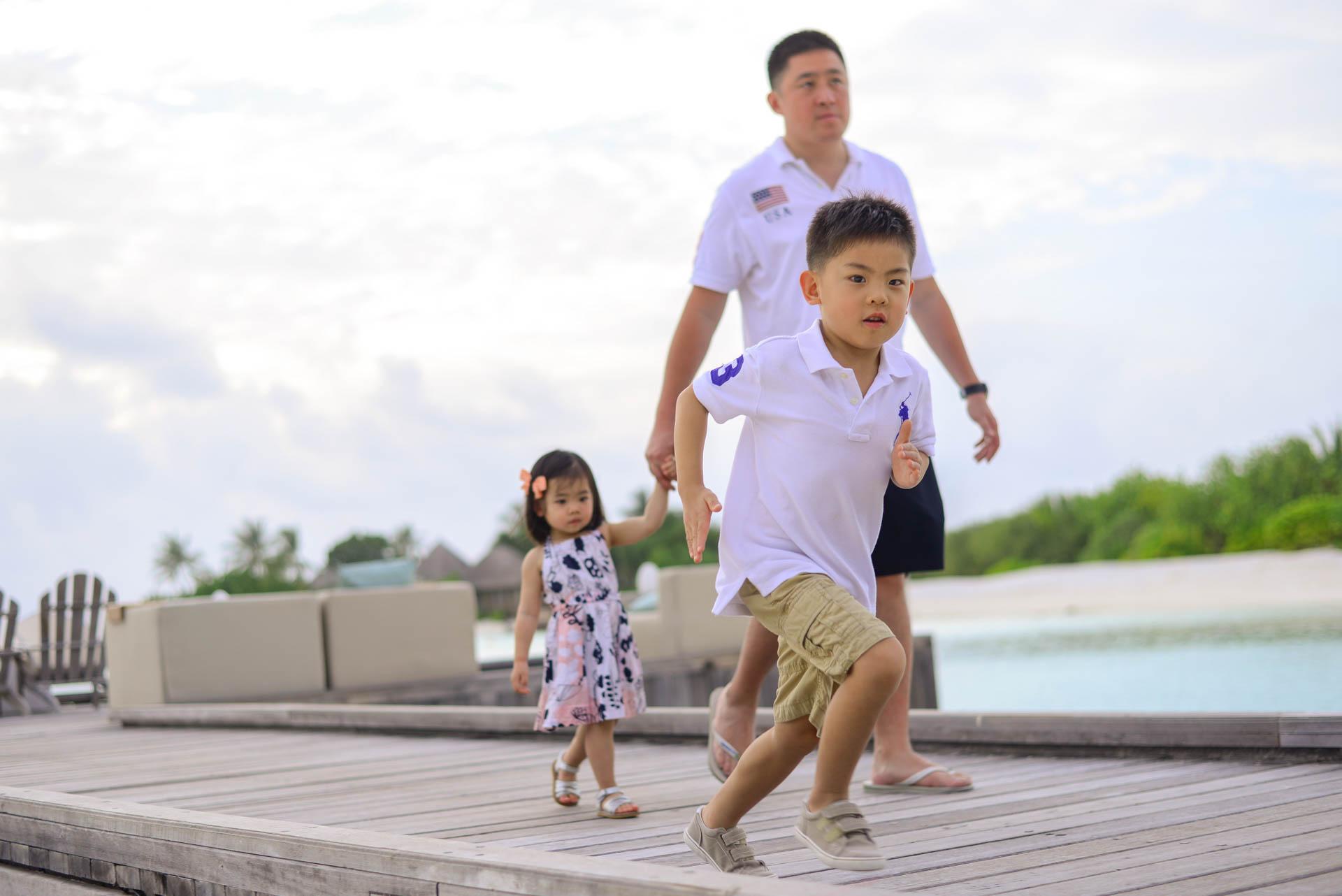 Rosa Family at Four seaons Maldives 44