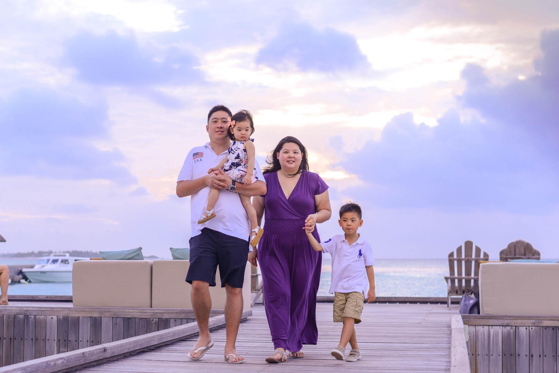 Rosa Family at Four seaons Maldives 50