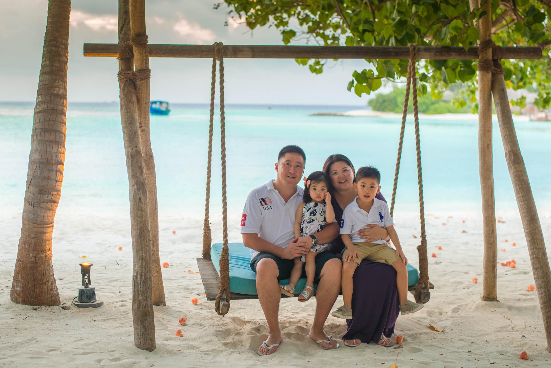 Rosa Family at Four seaons Maldives 57
