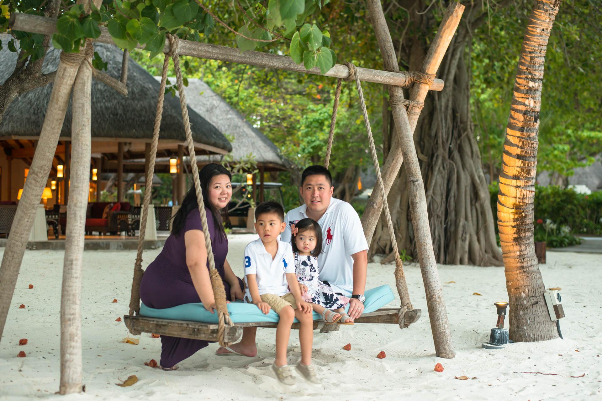 Rosa Family at Four seaons Maldives 59
