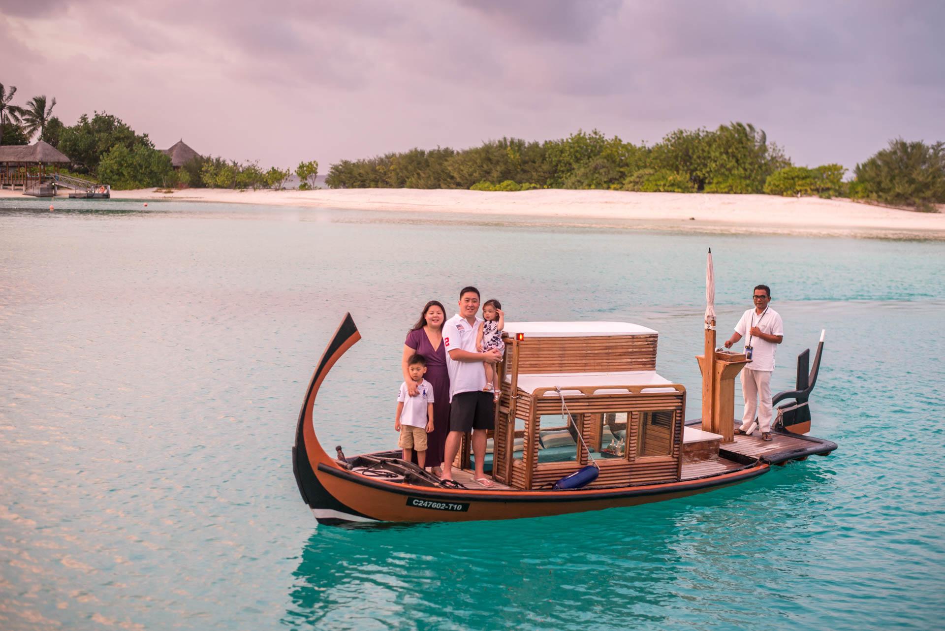 Rosa Family at Four seaons Maldives 65