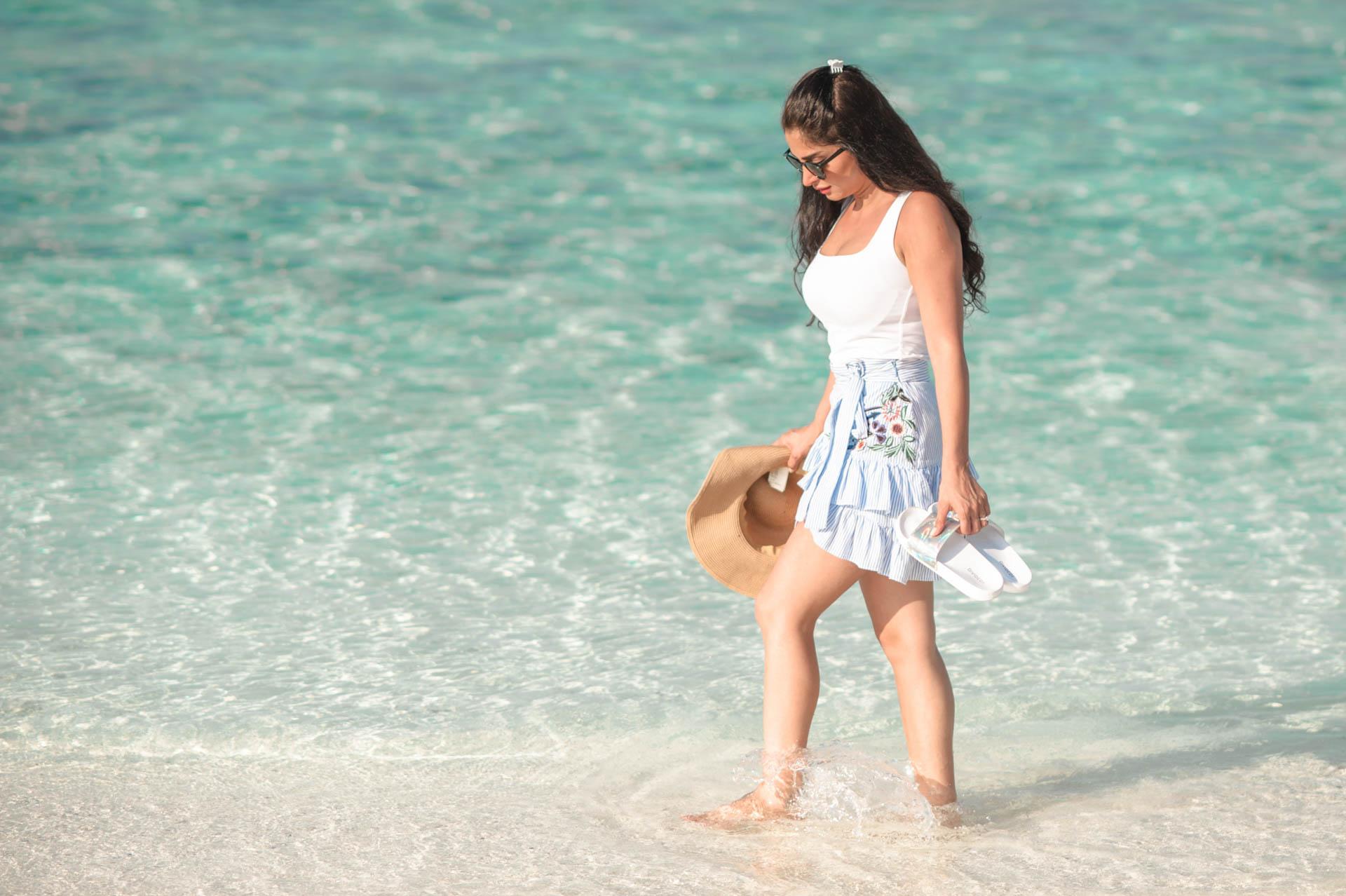 Shaidha Anthony at Vadoo Island Maldives 30