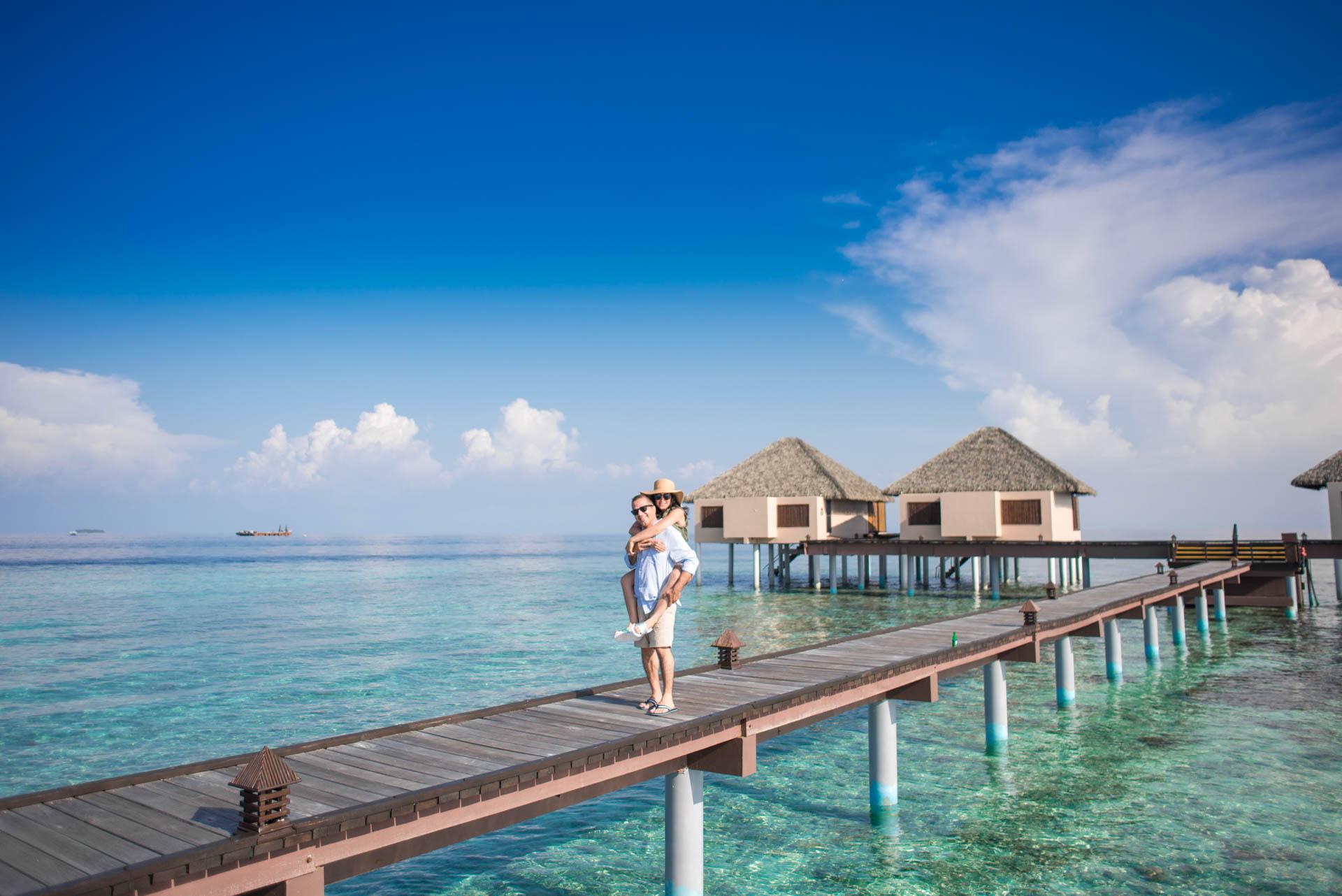 Shaidha Anthony at Vadoo Island Maldives 7