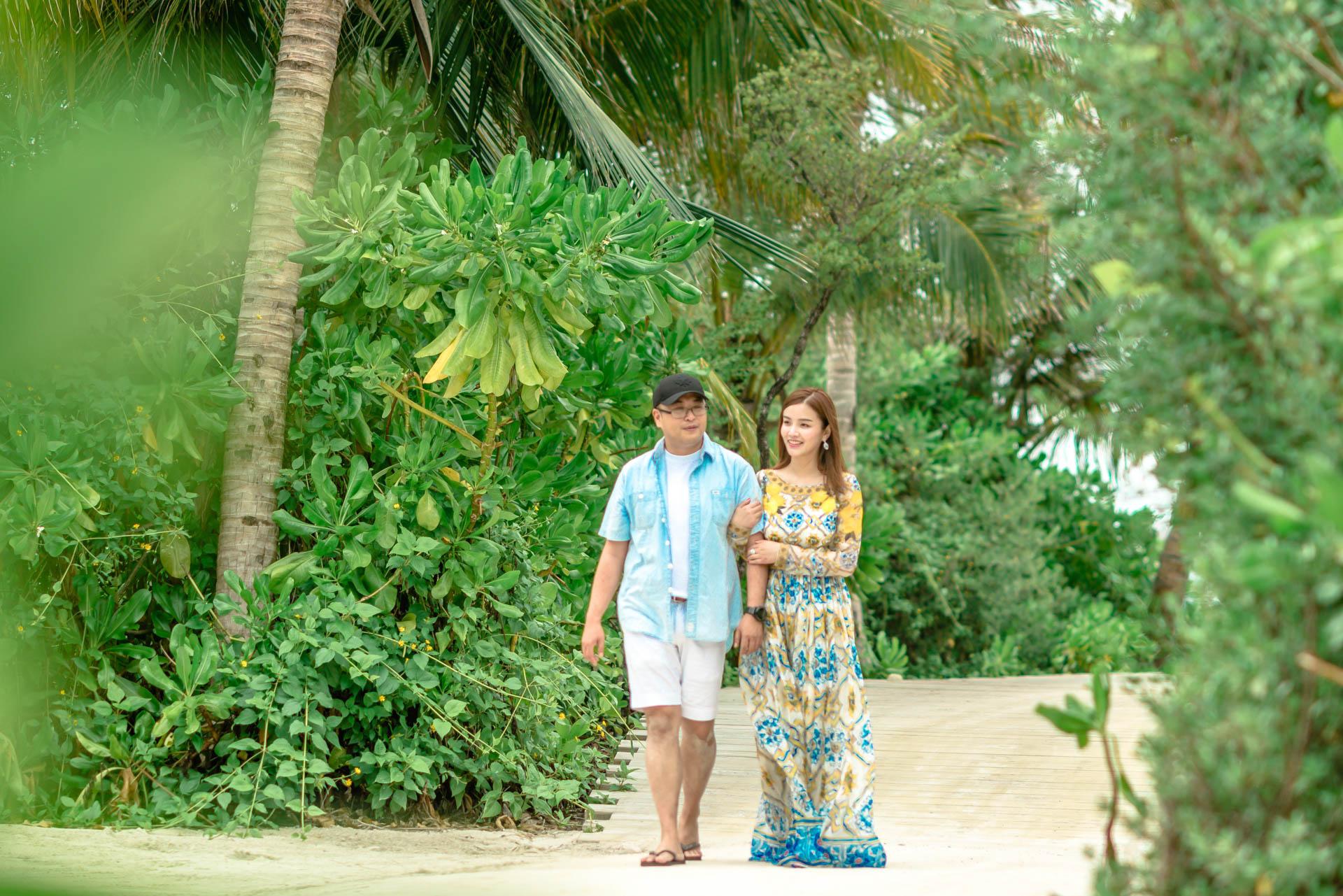 Shiou and Wu at Soneva Jani Couple Solo 3