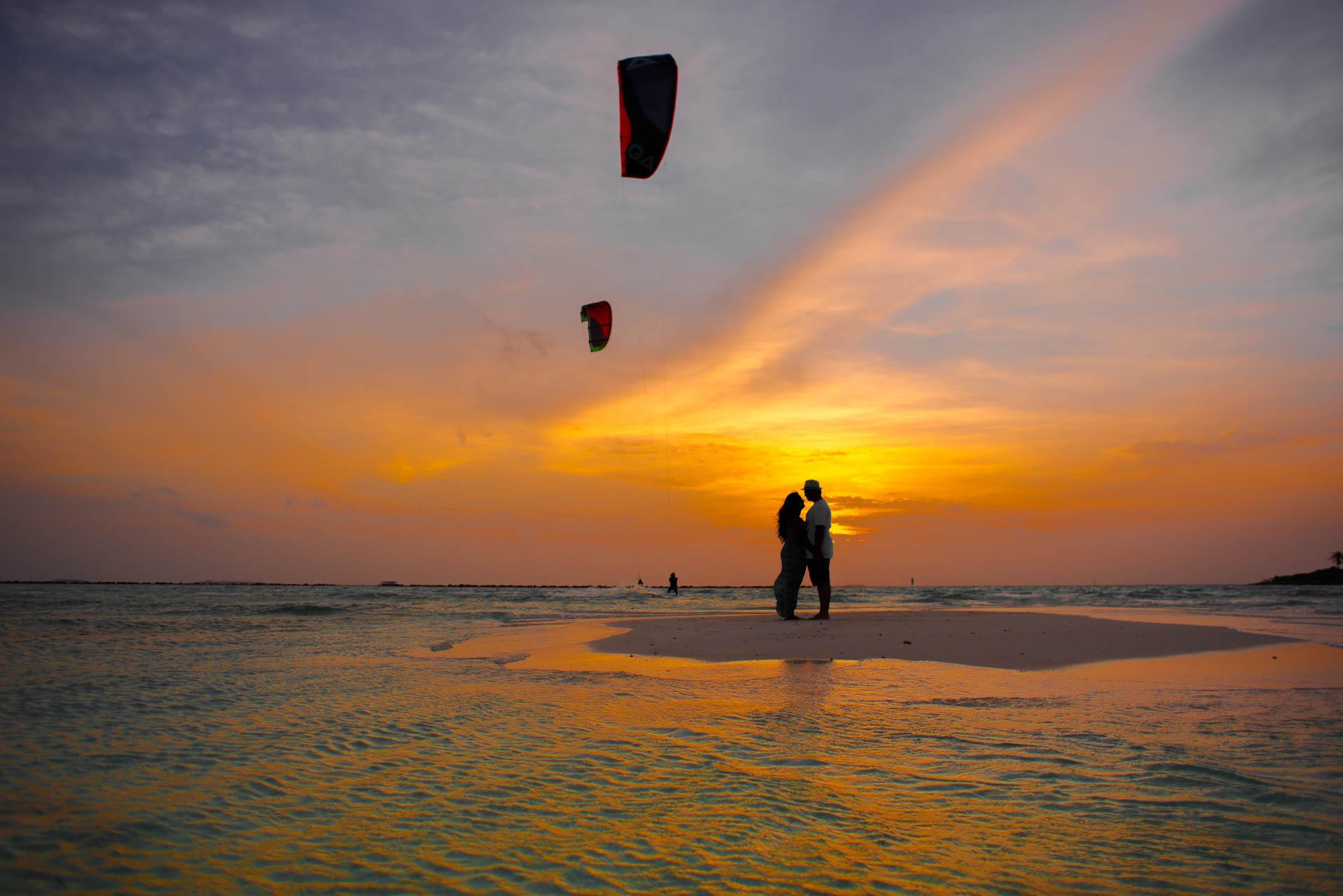 Sidhu and Agasthyas Anniversary Couple Photoshoot at Paradise Island Resort 12
