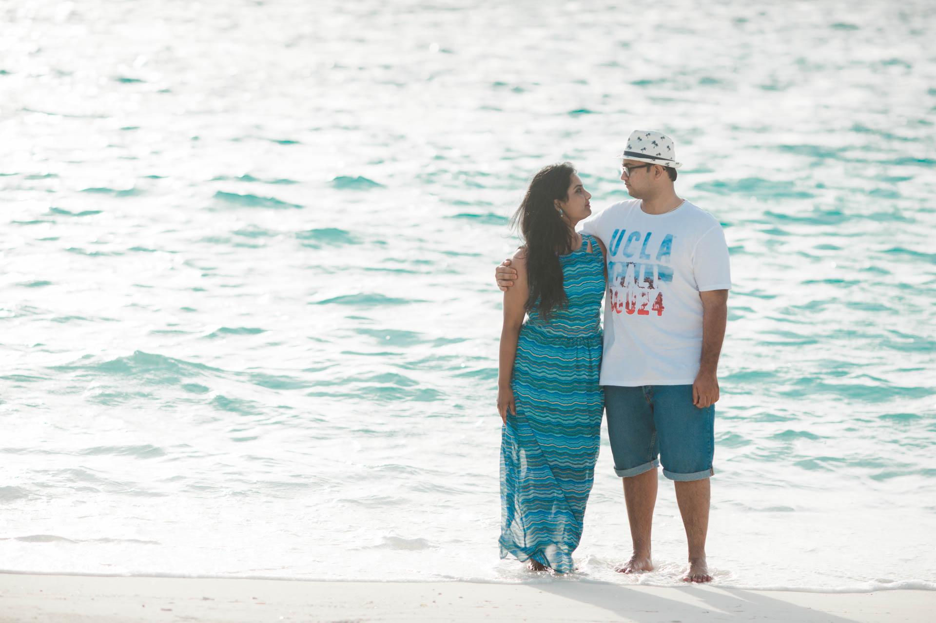 Sidhu and Agasthyas Anniversary Couple Photoshoot at Paradise Island Resort 6