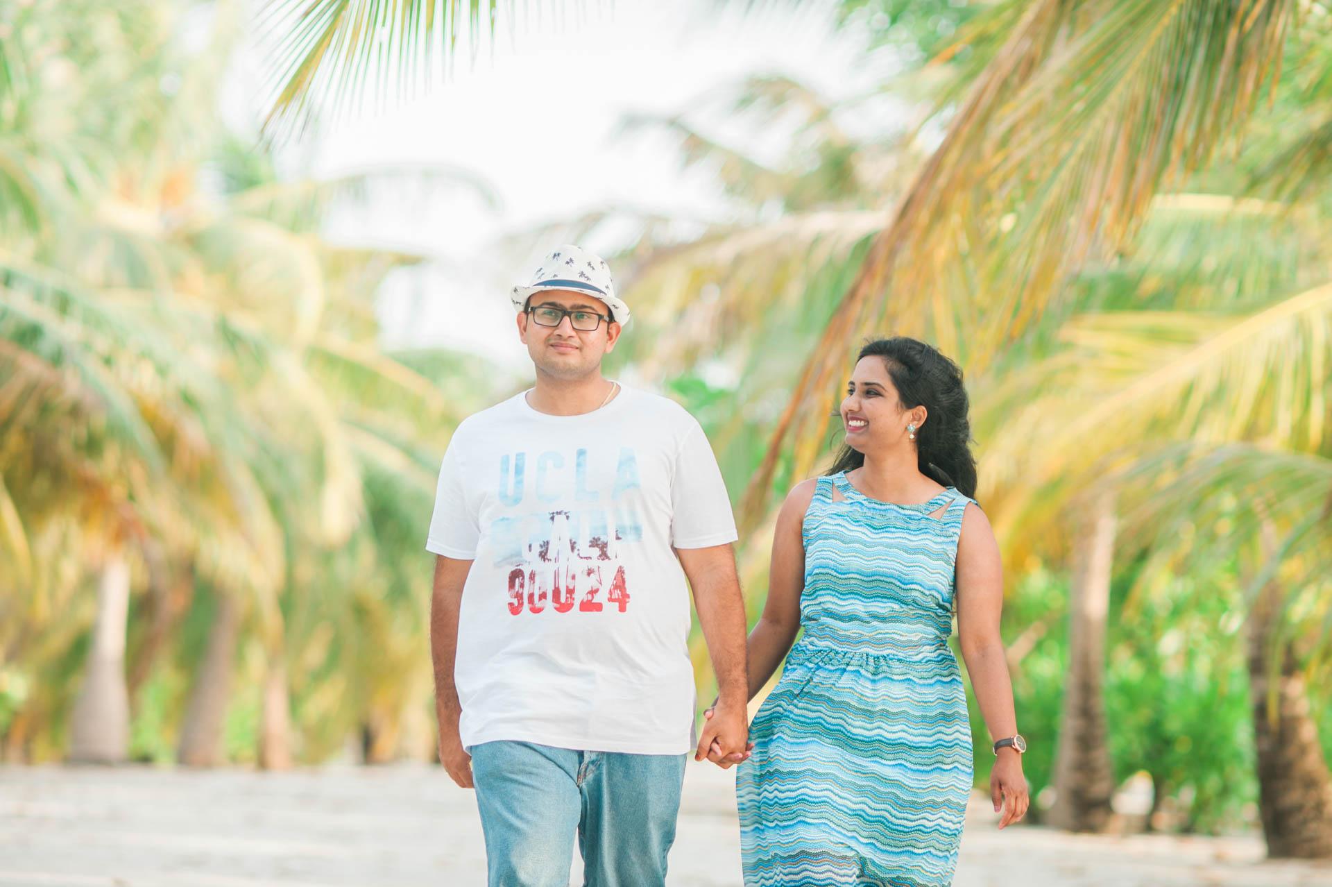Sidhu and Agasthyas Anniversary Couple Photoshoot at Paradise Island Resort 7