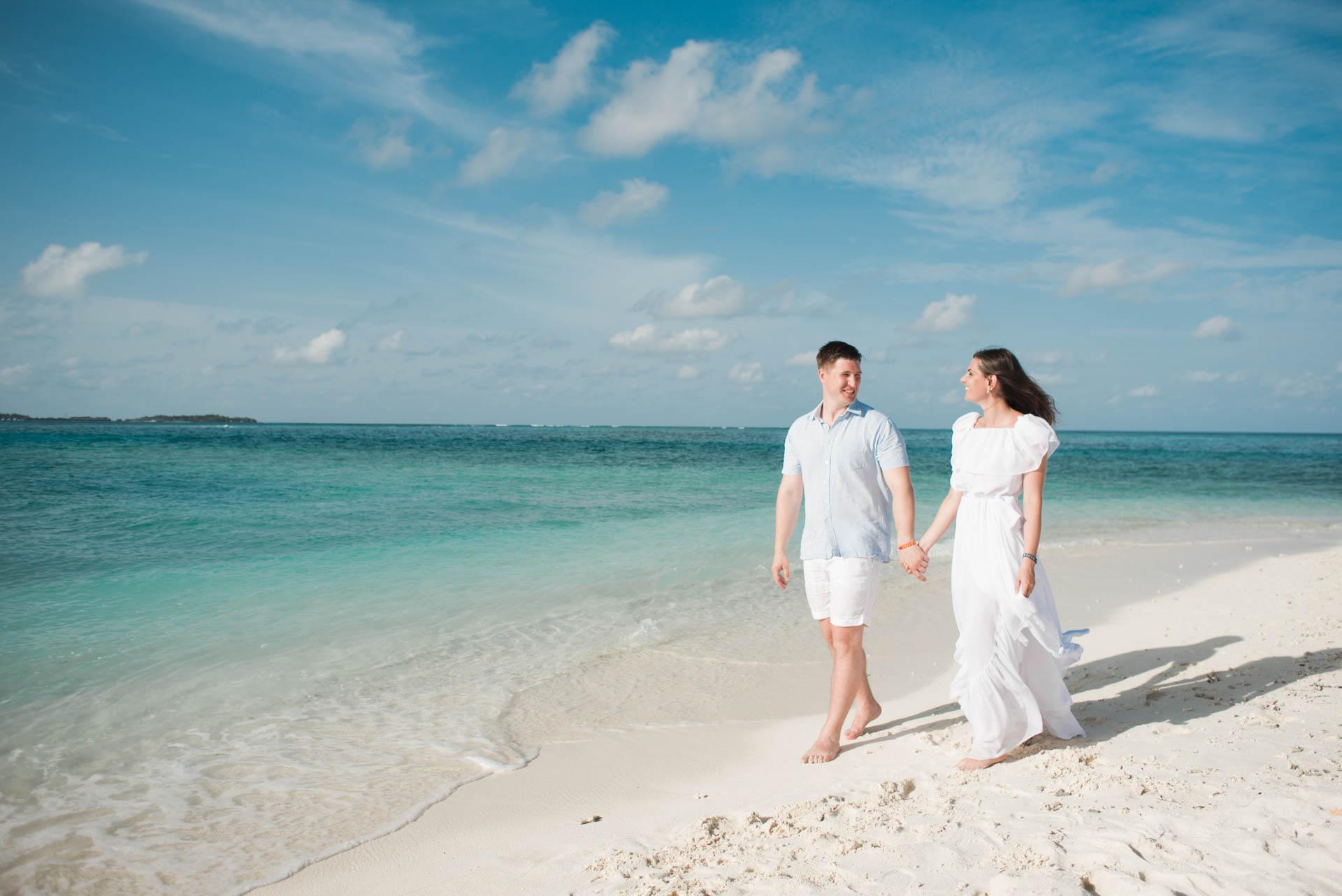 Xana and Stacey Honeymoon at Maafushi Island in Maldives 3