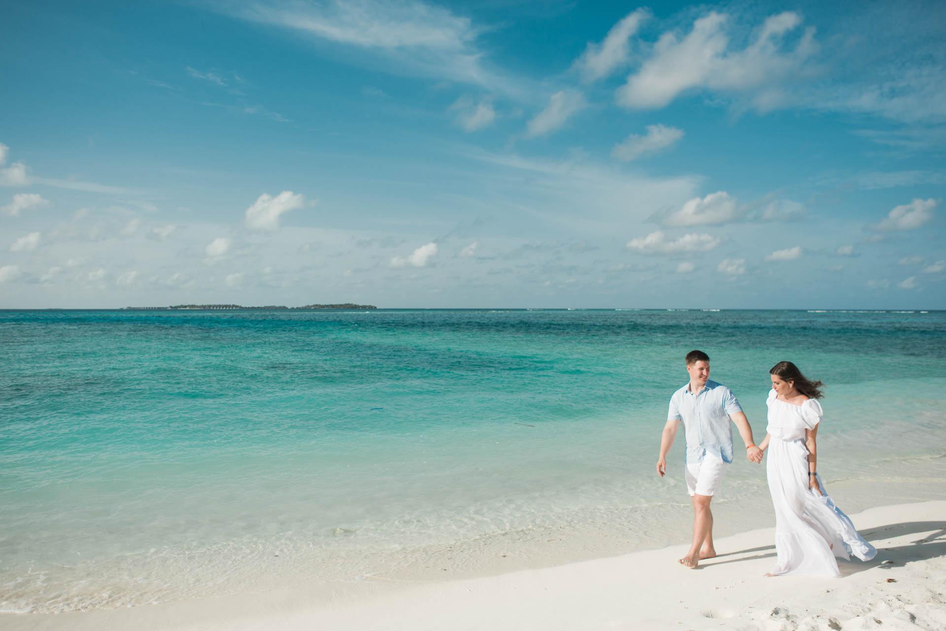 Xana and Stacey Honeymoon at Maafushi Island in Maldives 4