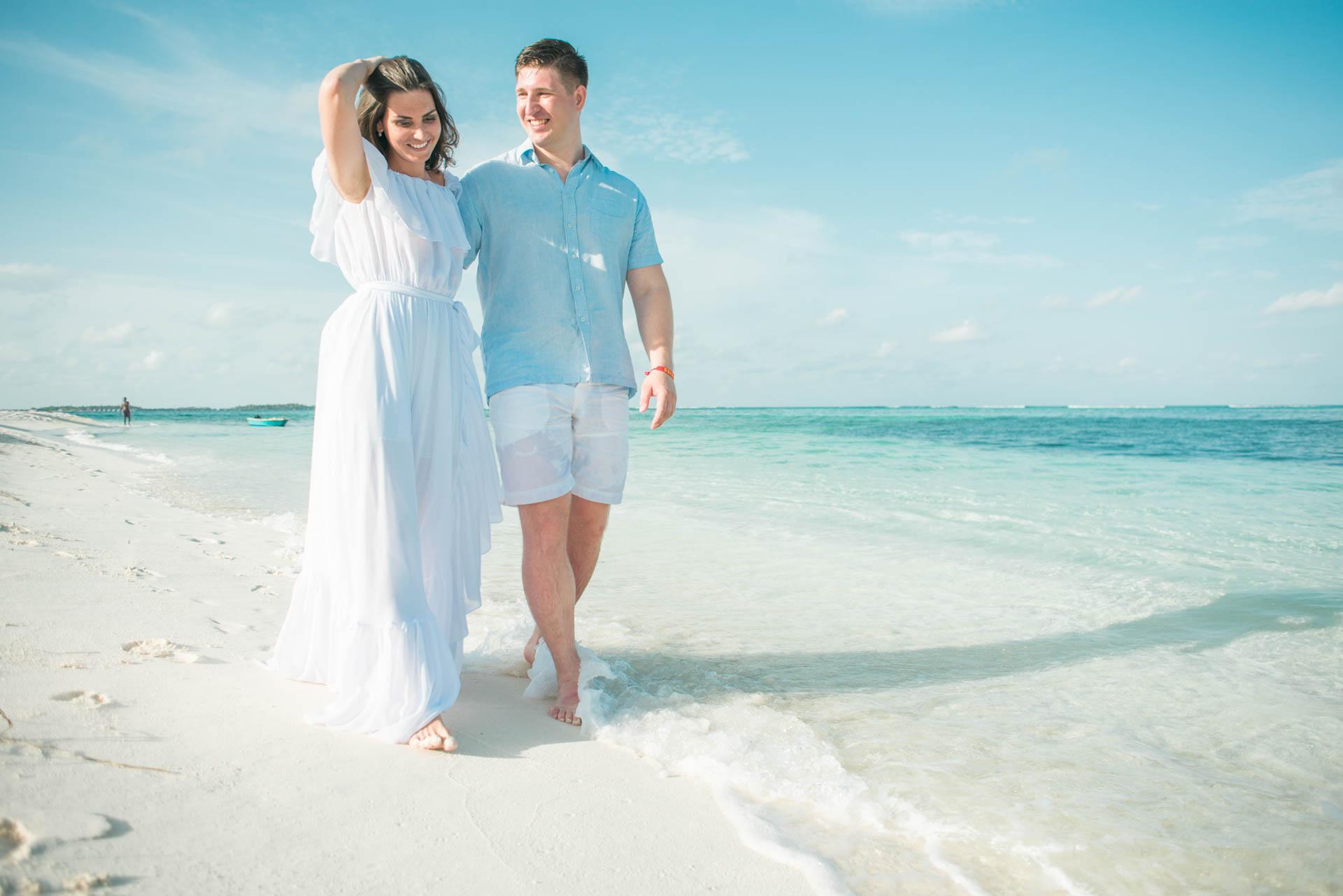 Xana and Stacey Honeymoon at Maafushi Island in Maldives 8